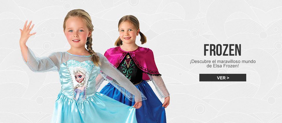 Disfraces Elsa frozen