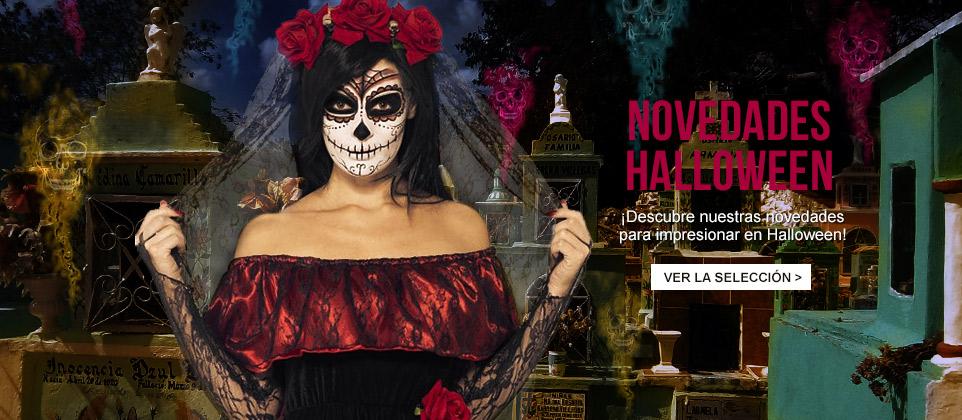 Novedades disfraces Halloween