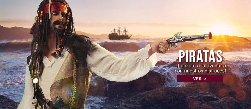 Disfraces piratas