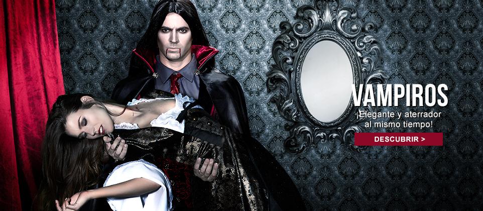 Disfraces vampiros