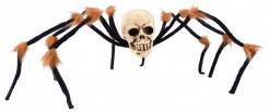 Decoración cráneo araña Halloween