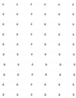 60 Perlas adhesivas plateadas