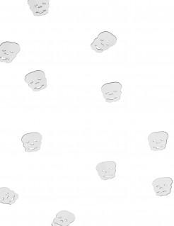 Confetis de mesa calavera Halloween 10 g