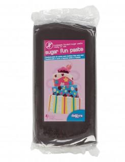 Pasta de azúcar sin gluten negro 250g