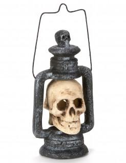 Lámpara cráneo luminoso 35 cm Halloween