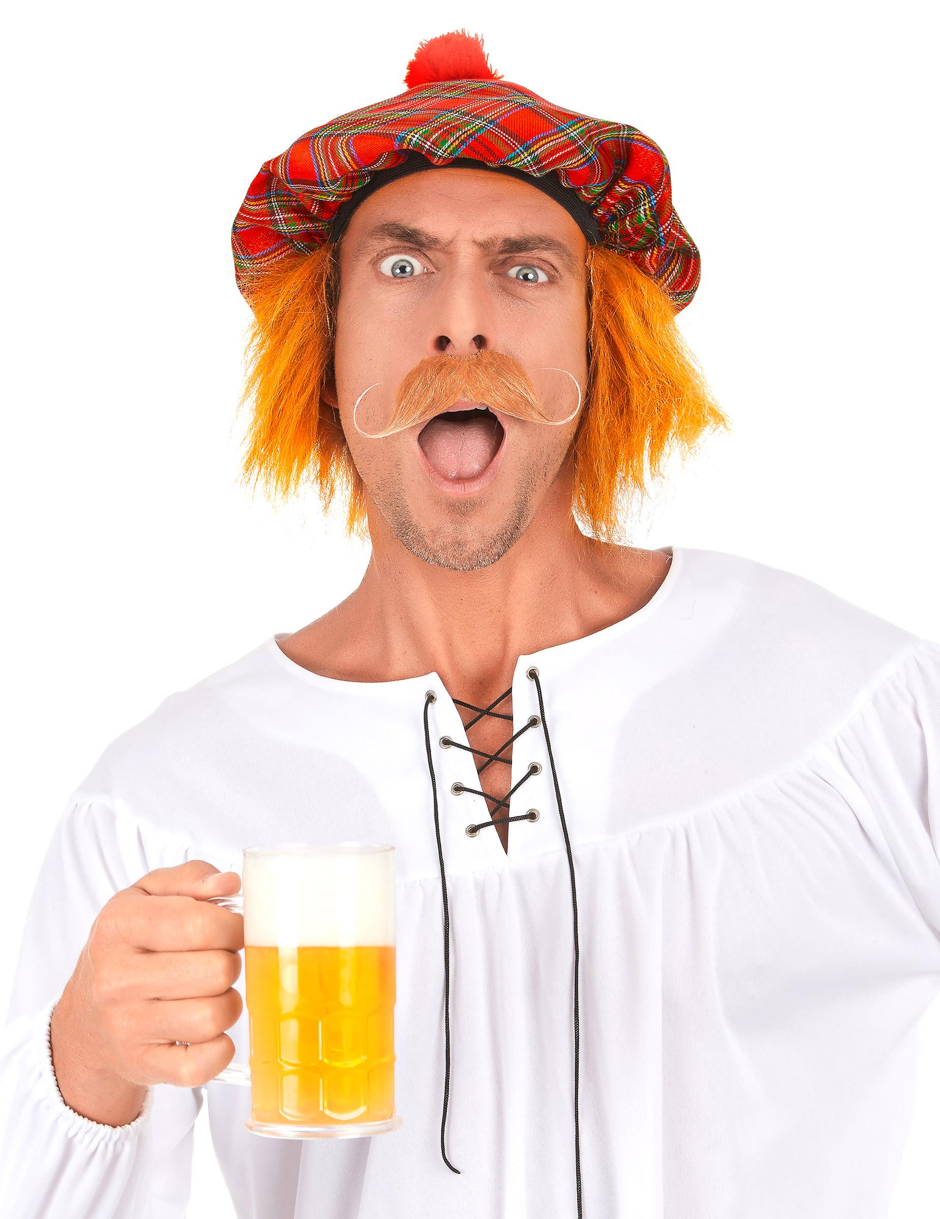 827ad0c22cf07 Boina escocesa para adulto  Sombreros