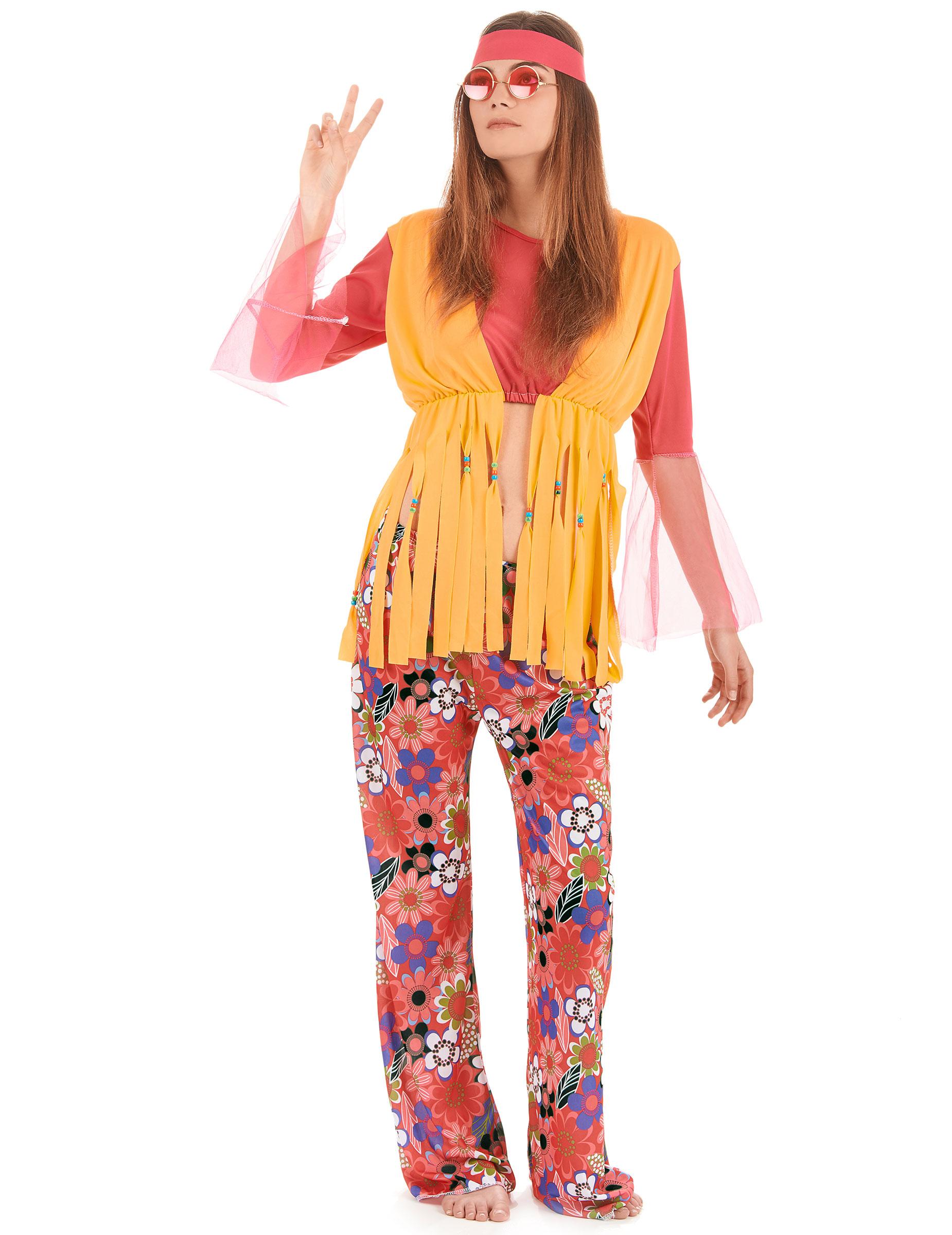 d5f6b60e804 Disfraces de Hippie y acessorios de disfraz Hippie baratos - Vegaoo.es