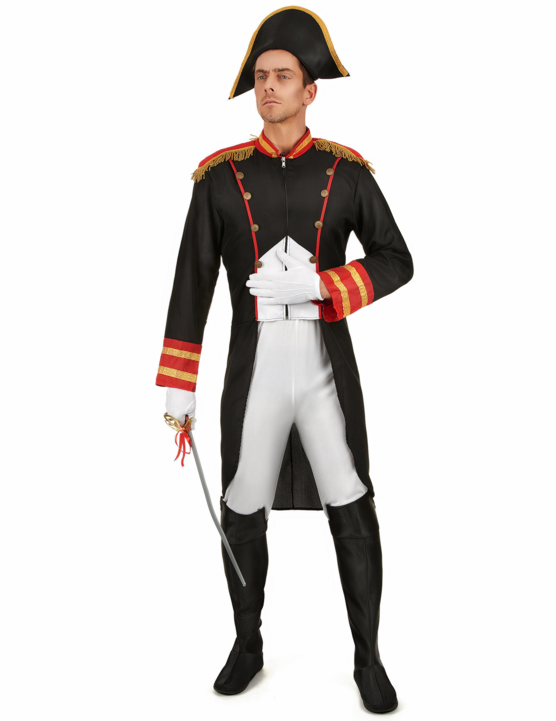 Disfraz de Napoleón para hombre  Disfraces adultos d30fa7ee0ac