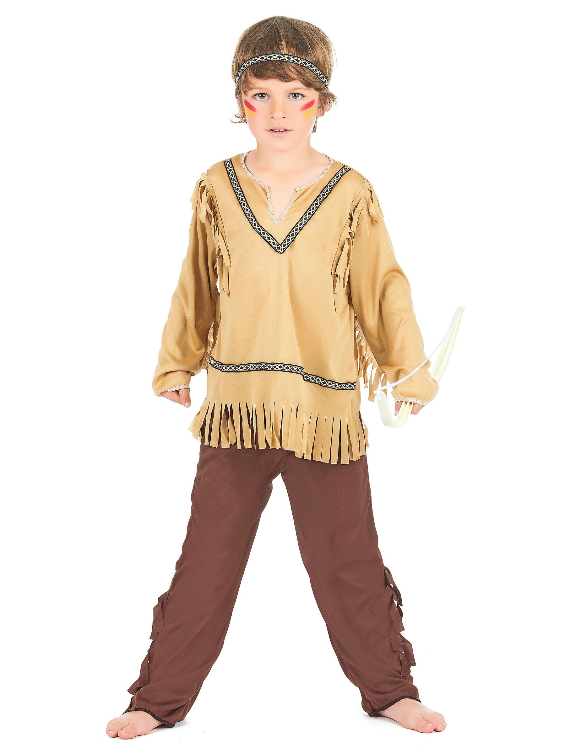 Como Hacer Disfraces Para Ninos De Indios - Hacer-disfraz-india