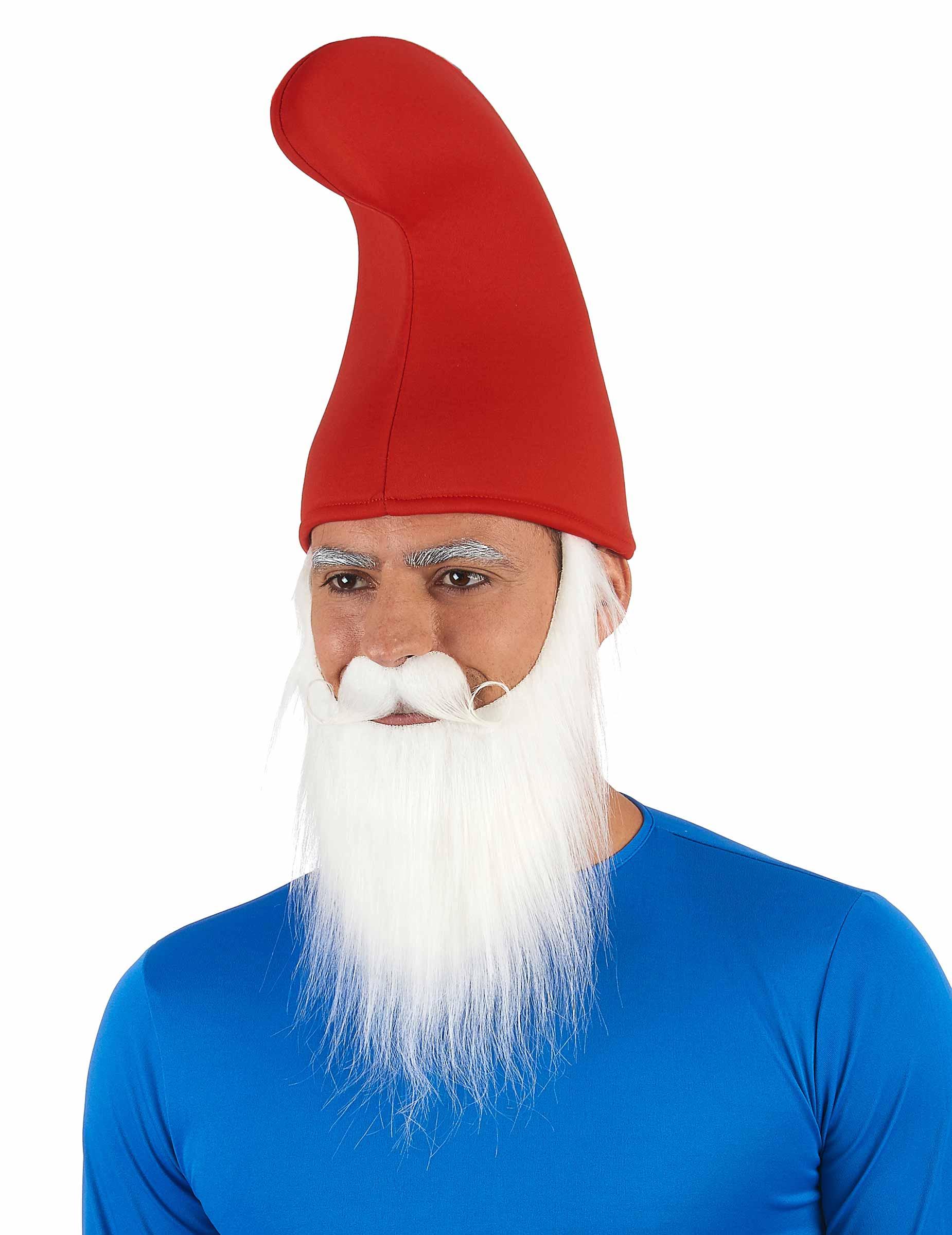 Gorro rojo de duende para adulto  Sombreros 7b9cb5450fe