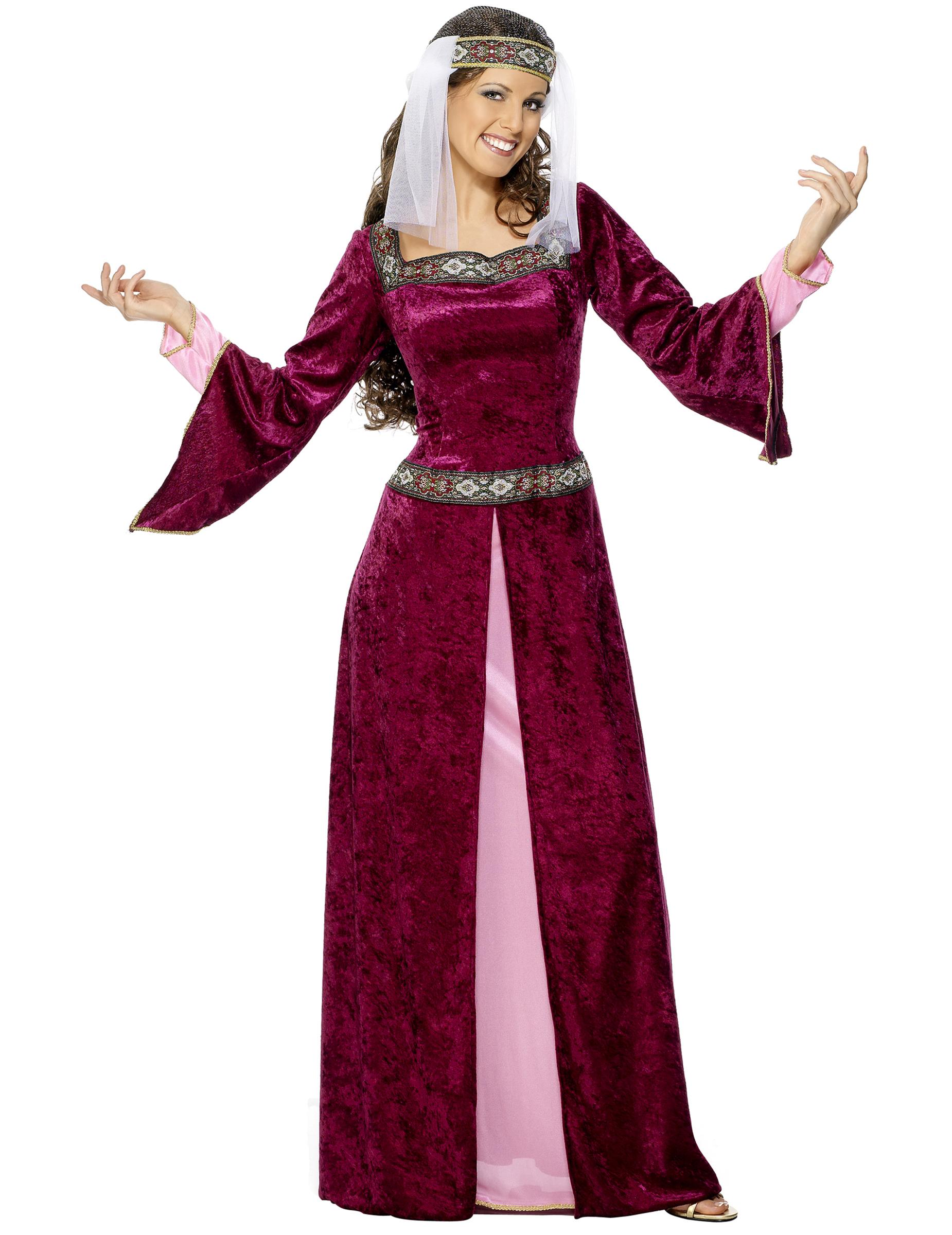 bb7b69ac3 Disfraz de reina medieval para mujer  Disfraces adultos