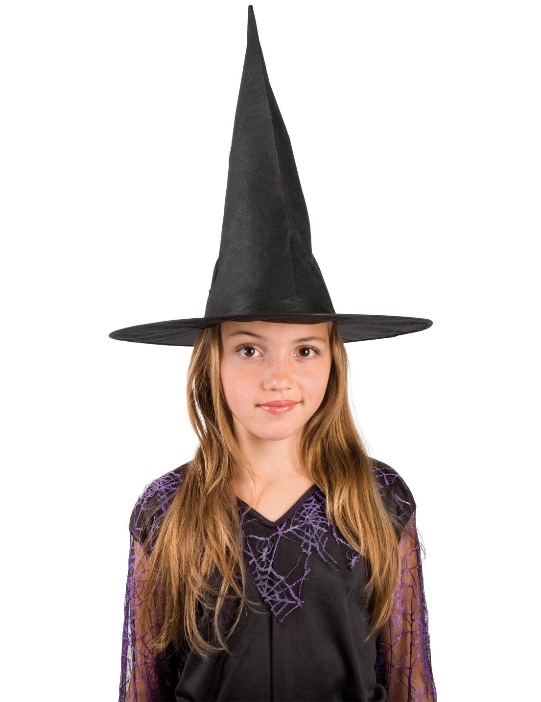 Sombrero de bruja para niña ideal Halloween dda3857f7d0