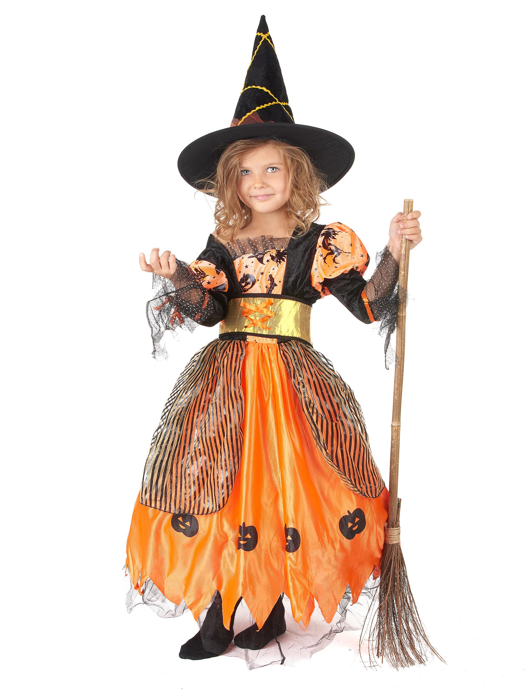 Disfraz De Bruja Para Nina Ideal Para Halloween Disfraces Ninosy - Disfraz-de-bruja-para-bebe