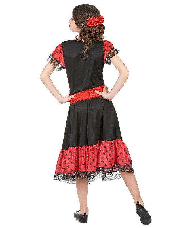 827757ce0 Disfraz de bailaora flamenca para niña