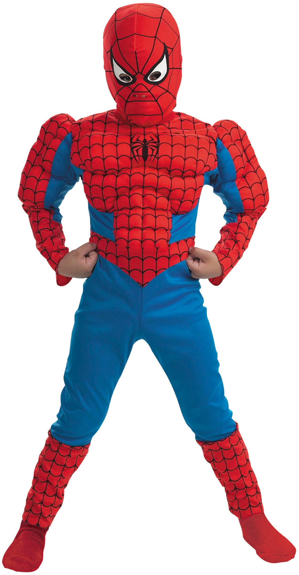 Как сшить новогодний костюм человека паука для мальчика своими руками