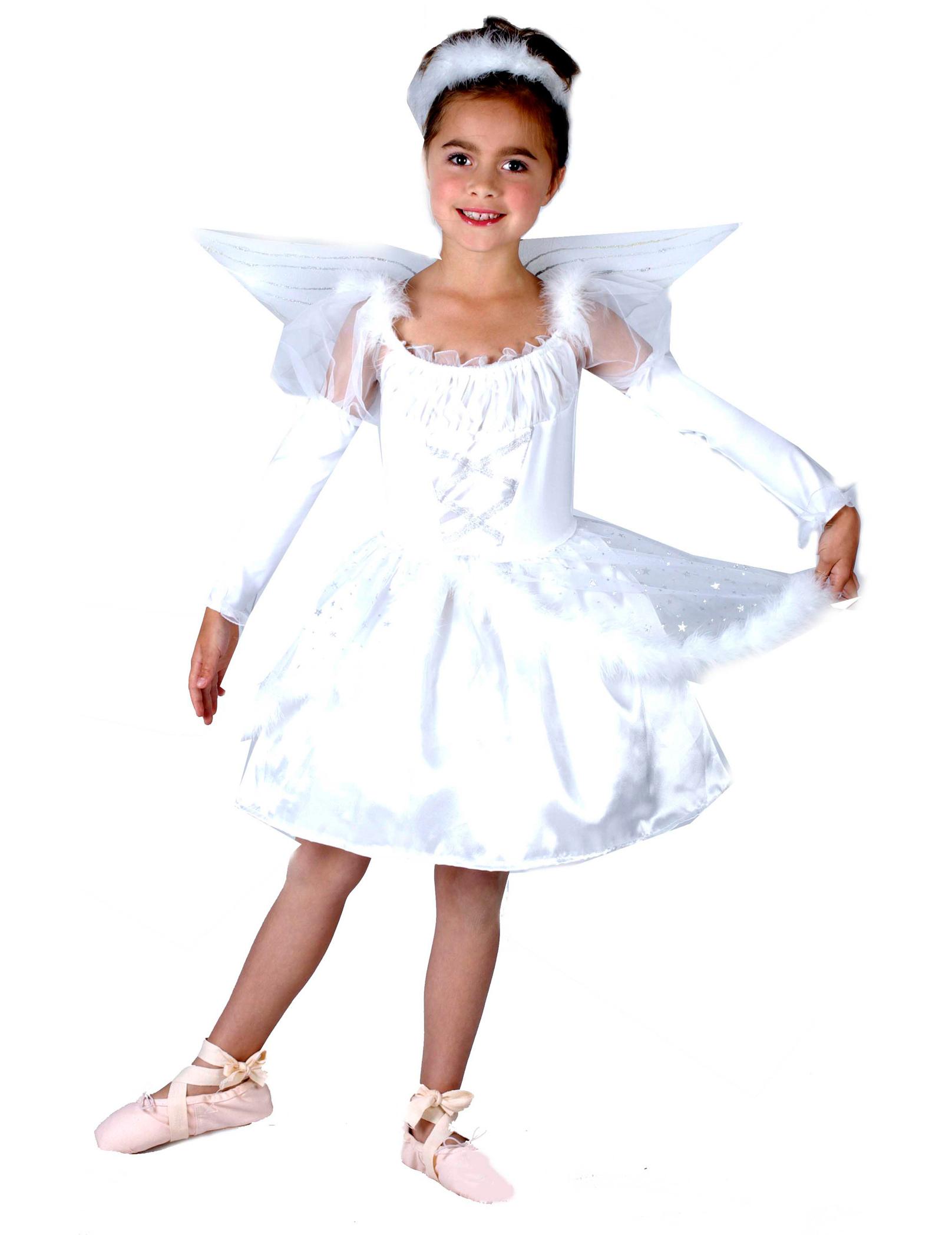 Traje de ngel para ni a - Disfraz de angel nino ...