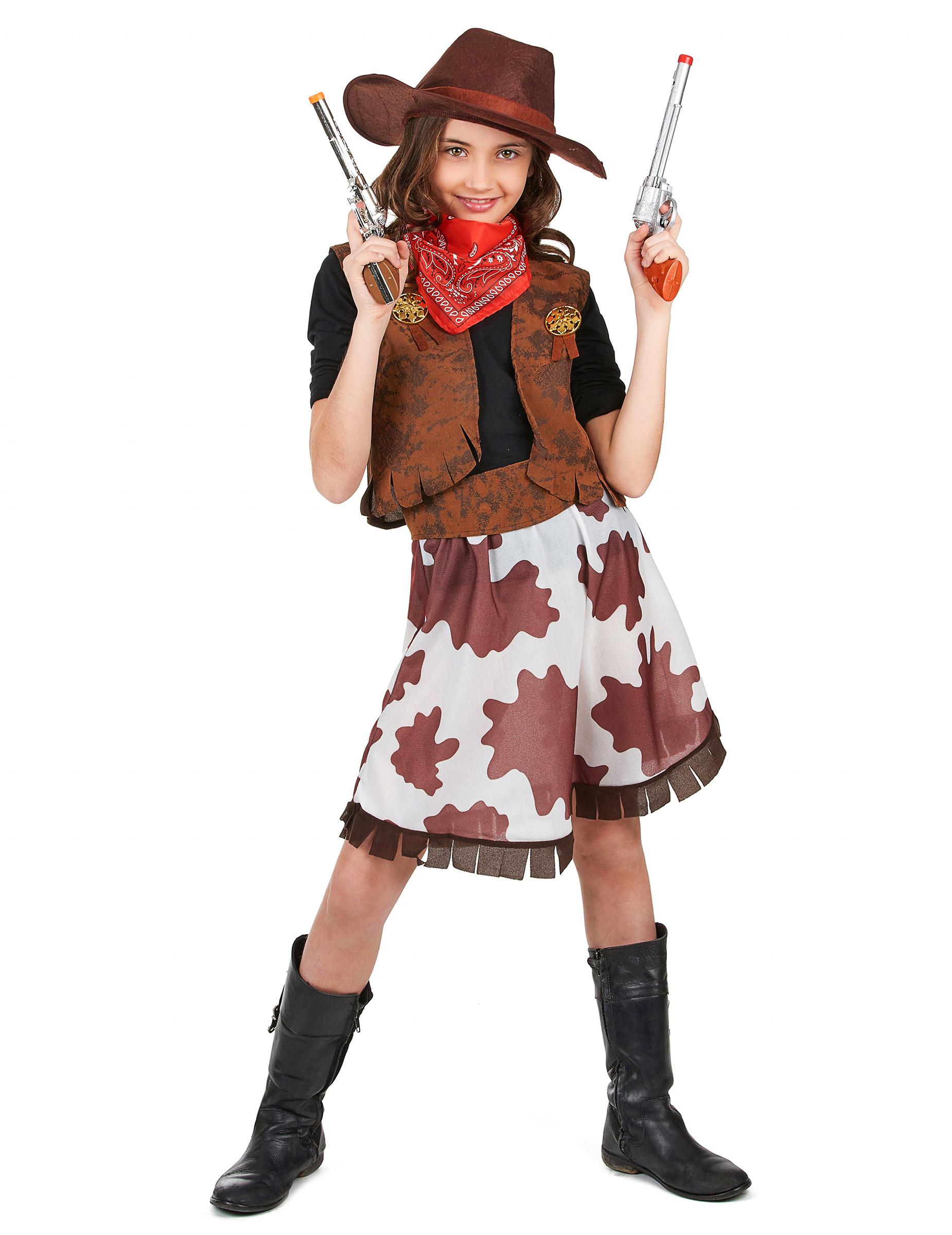 f7268801ee Disfraz de vaquera para niña  Disfraces niños