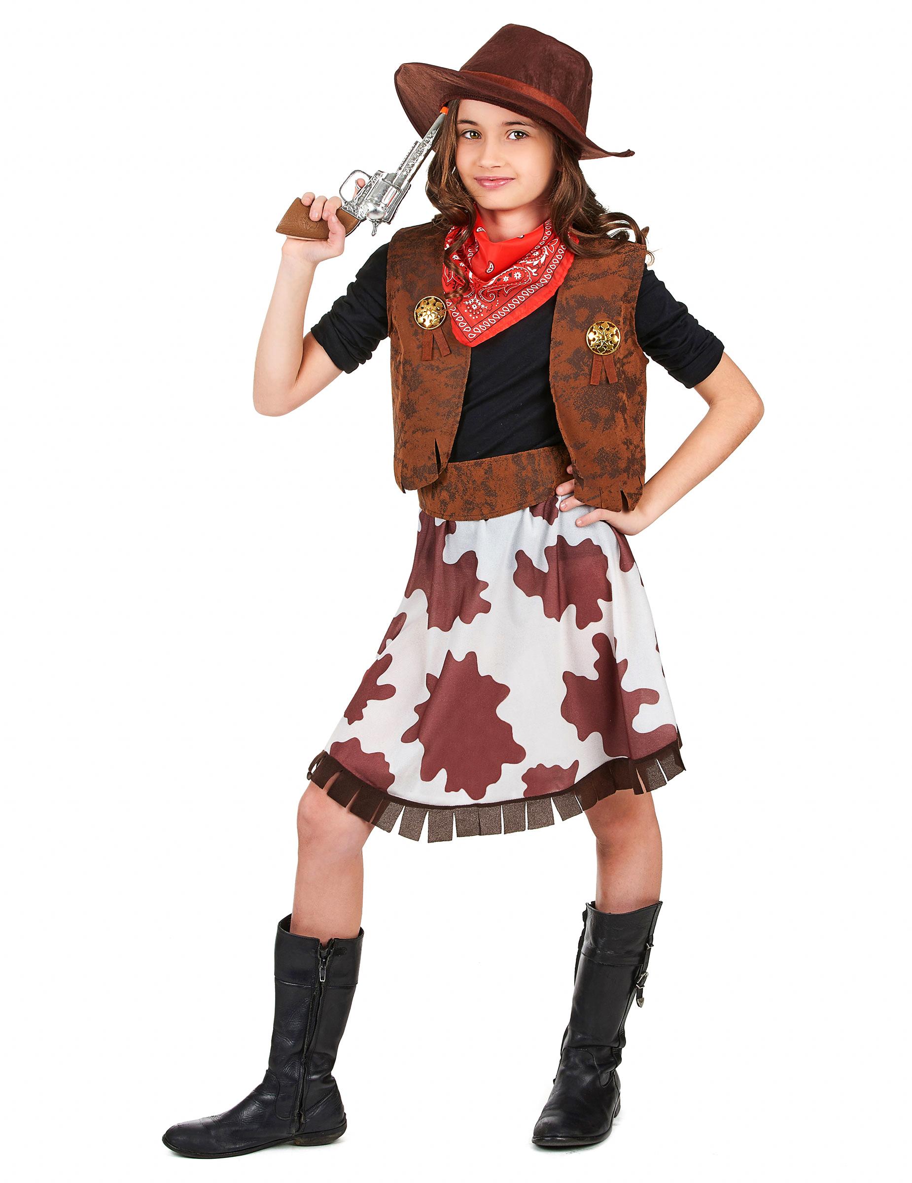 977802fb27f4e Disfraz de vaquera para niña  Disfraces niños