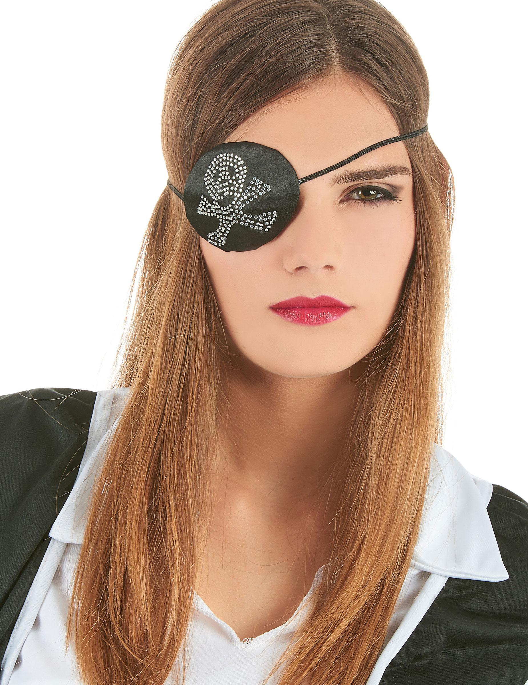 Parche De Pirata Para Mujer Accesoriosy Disfraces Originales - Maquillaje-de-pirata-para-mujer
