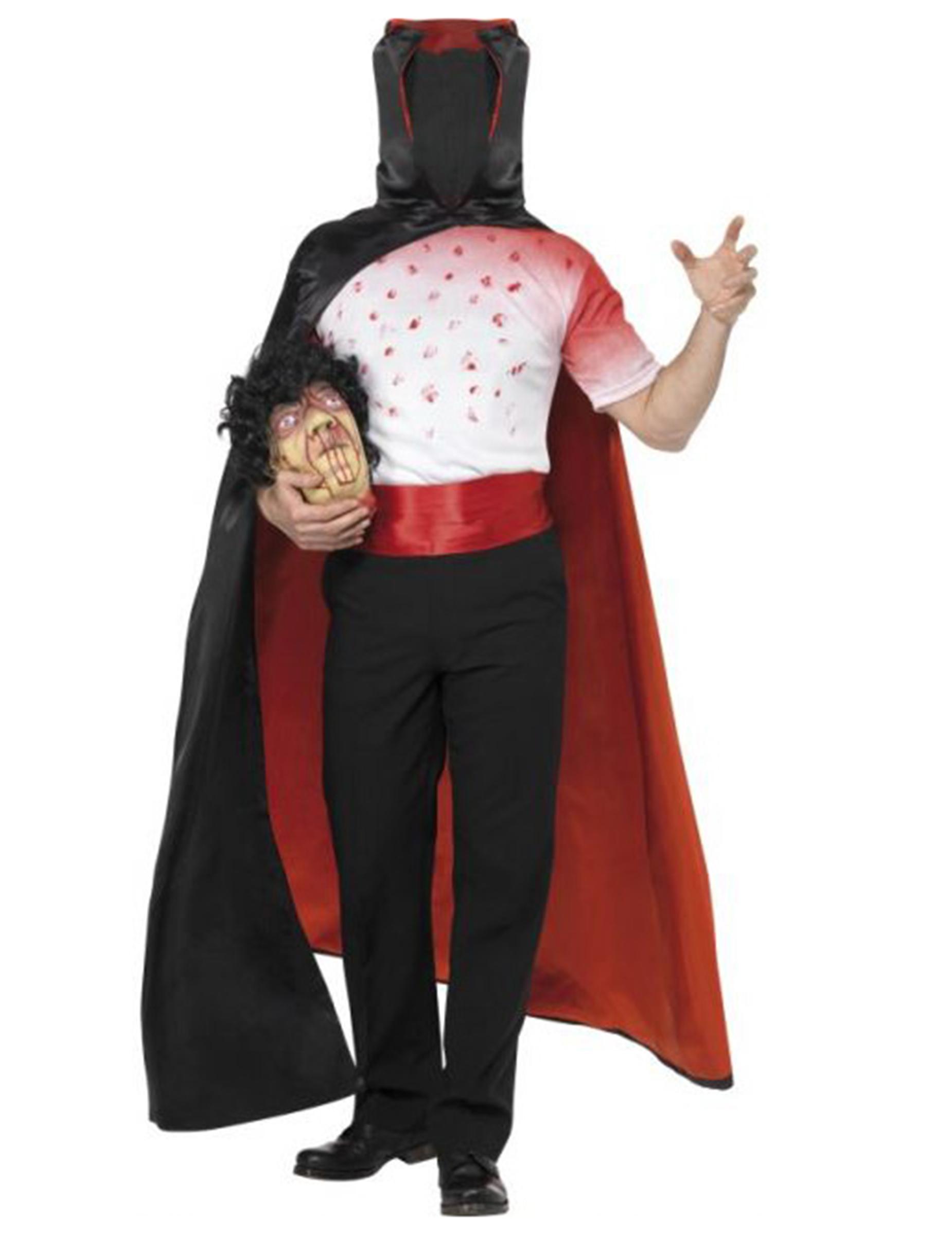 Disfraz De Hombre Sin Cabeza Ideal Para Halloween Disfraces Adultos - Disfraces-sin-cabeza