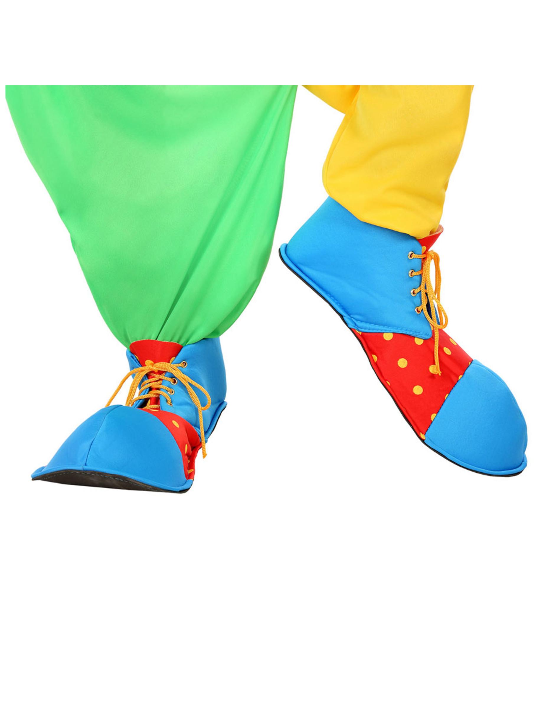 Zapatos de payaso para adulto  Accesorios 38e1bb3c1946