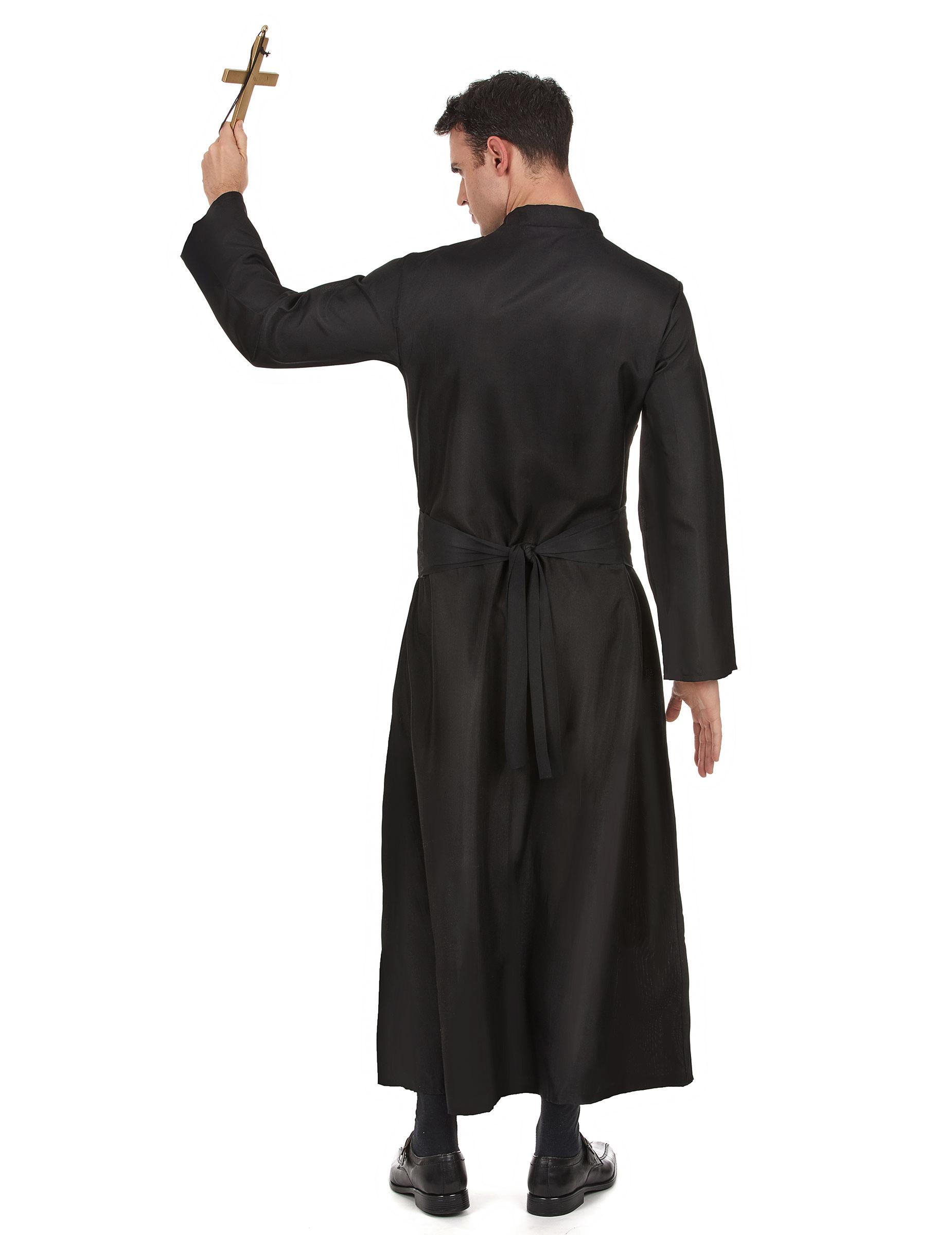 Disfraz de cura para hombre disfraces adultos y disfraces for Disfraces baratos