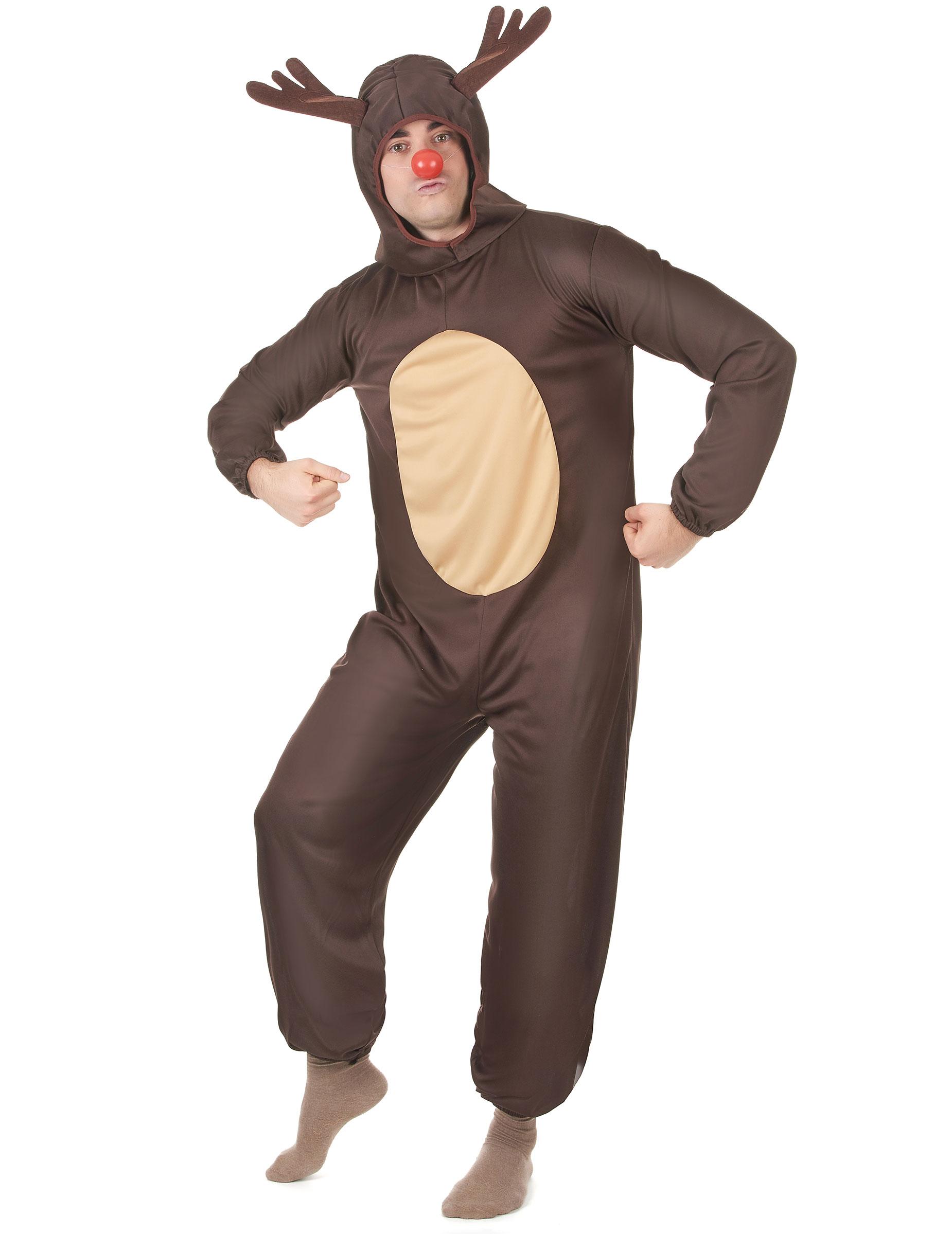 Disfraz de reno de navidad para hombre disfraces adultos - Disfraz de reno nina ...