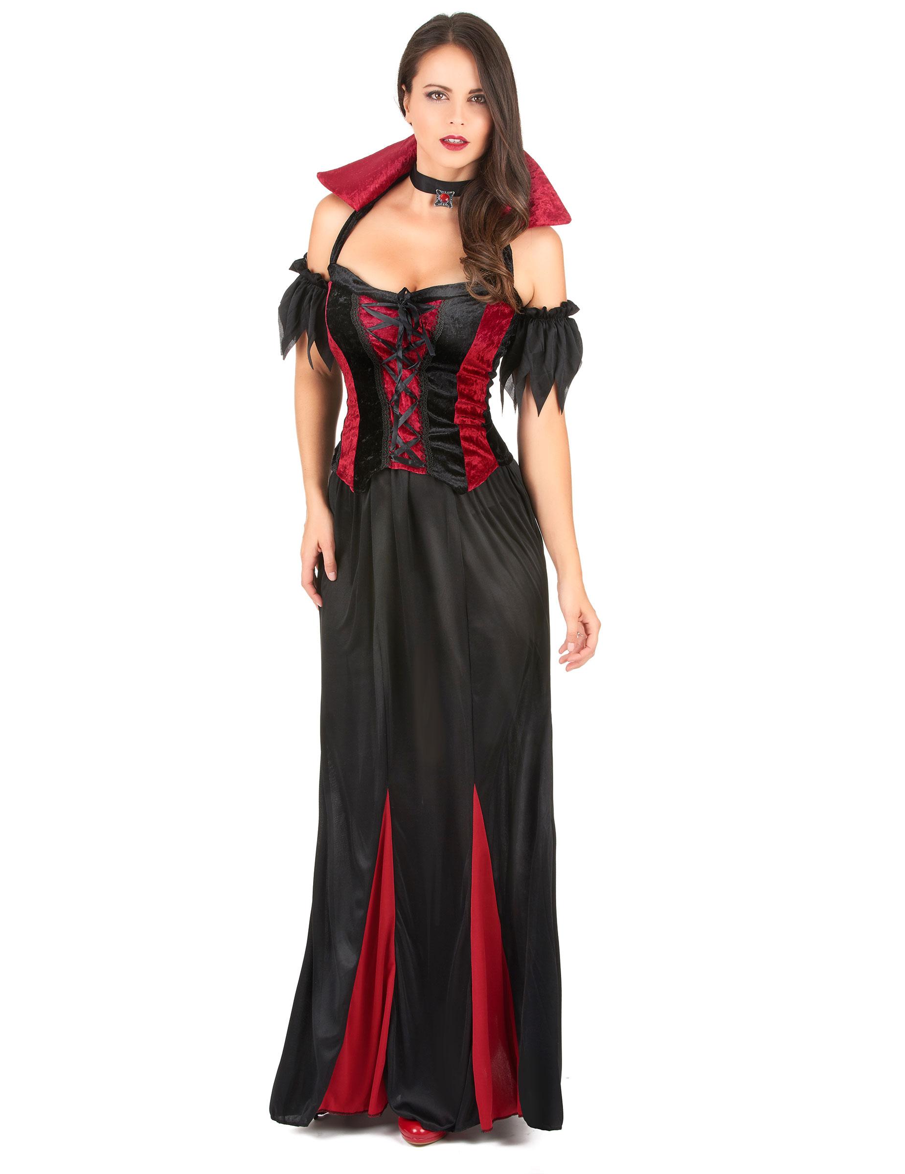 de vampiresa para mujer ideal para Halloween