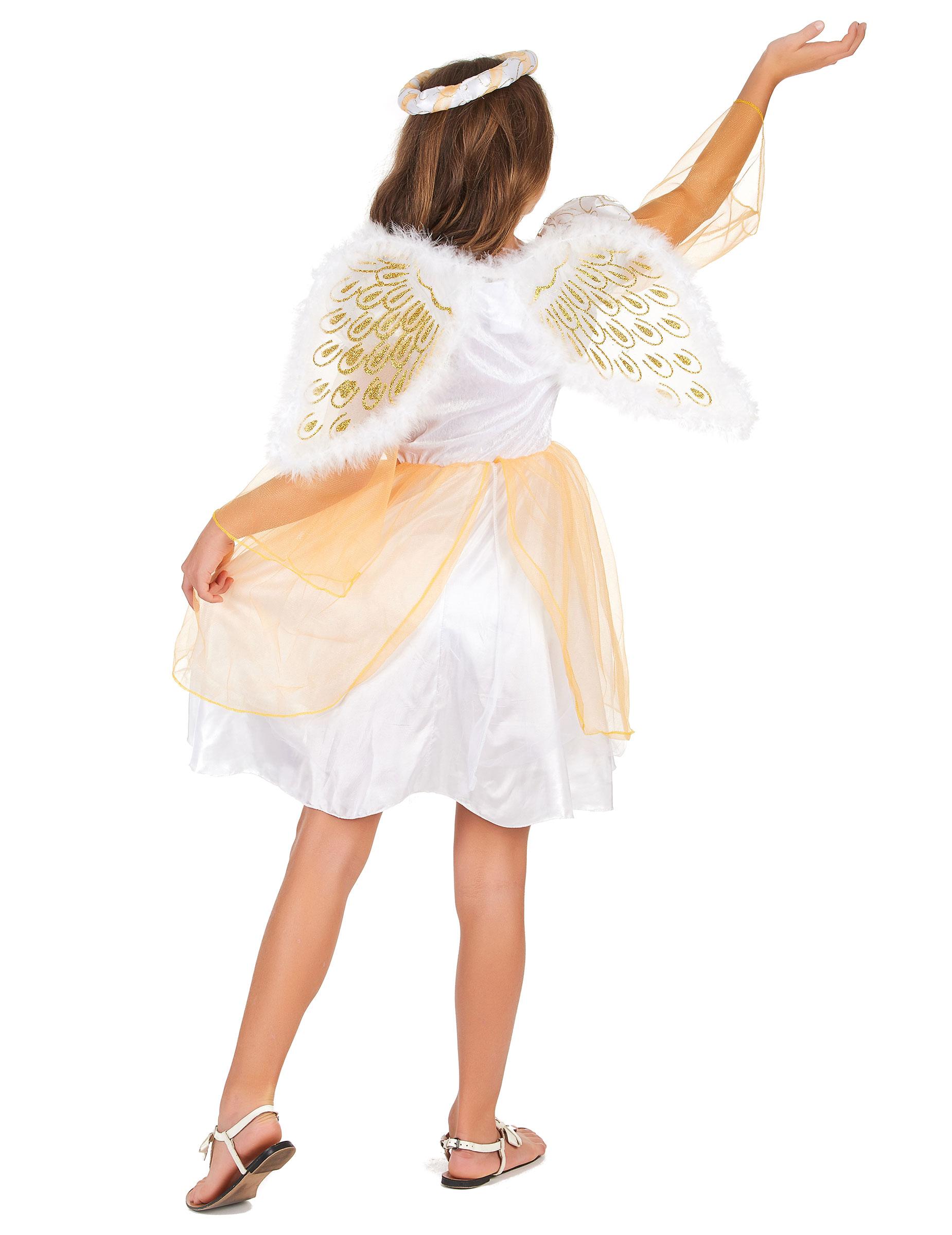 55bd0be45 Disfraz de ángel para niña