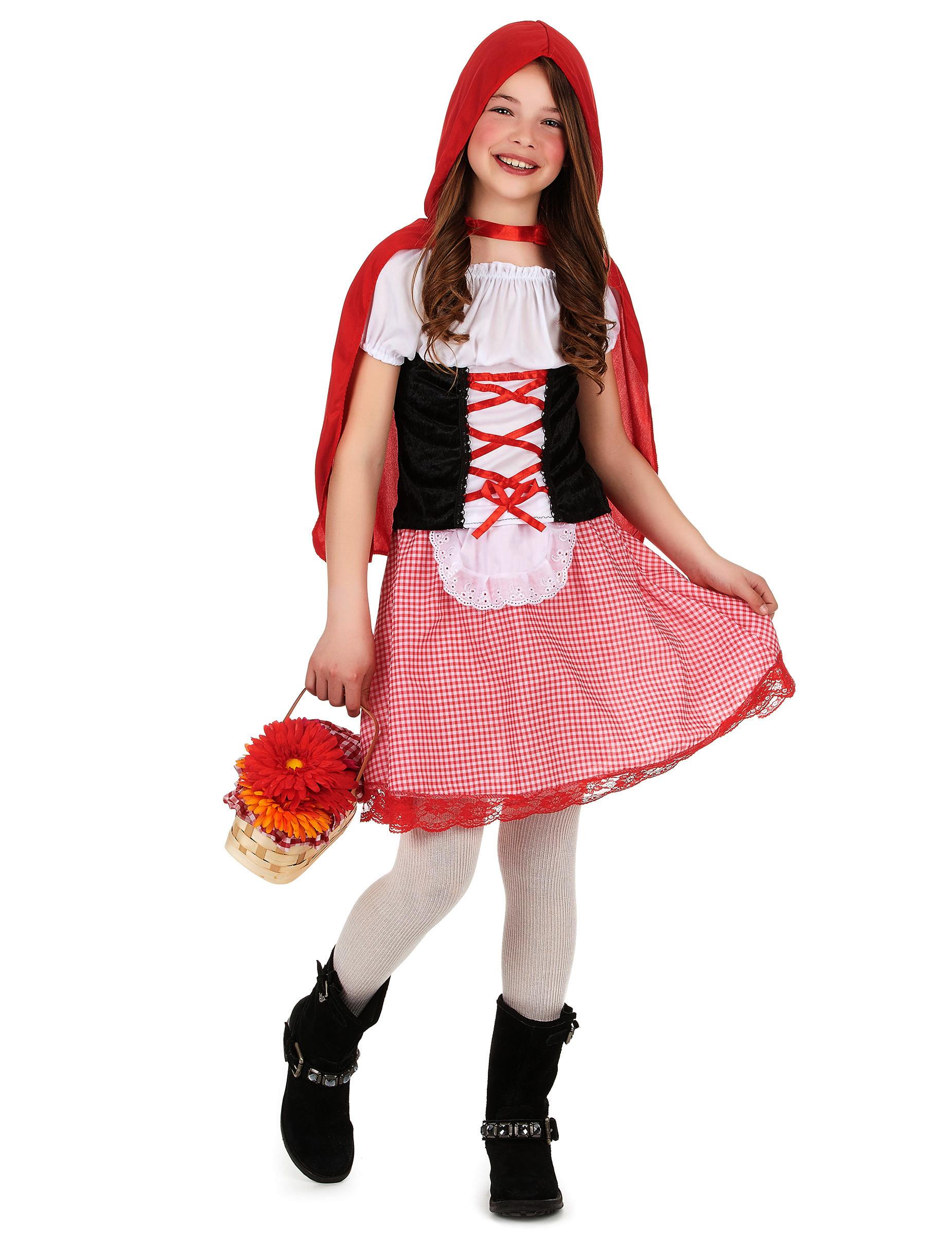 disfraz de caperucita roja para nia