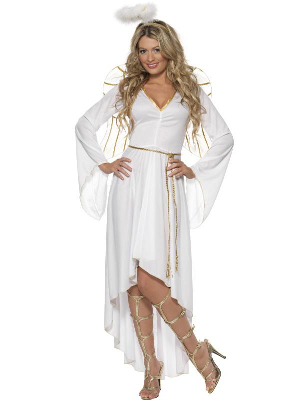 disfraz de ngel de navidad para mujer