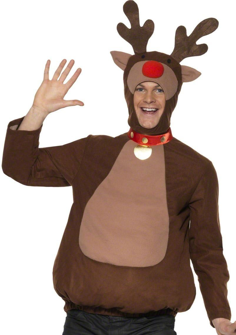 Disfraz de reno de navidad para adulto disfraces adultos - Disfraces de navidad originales ...