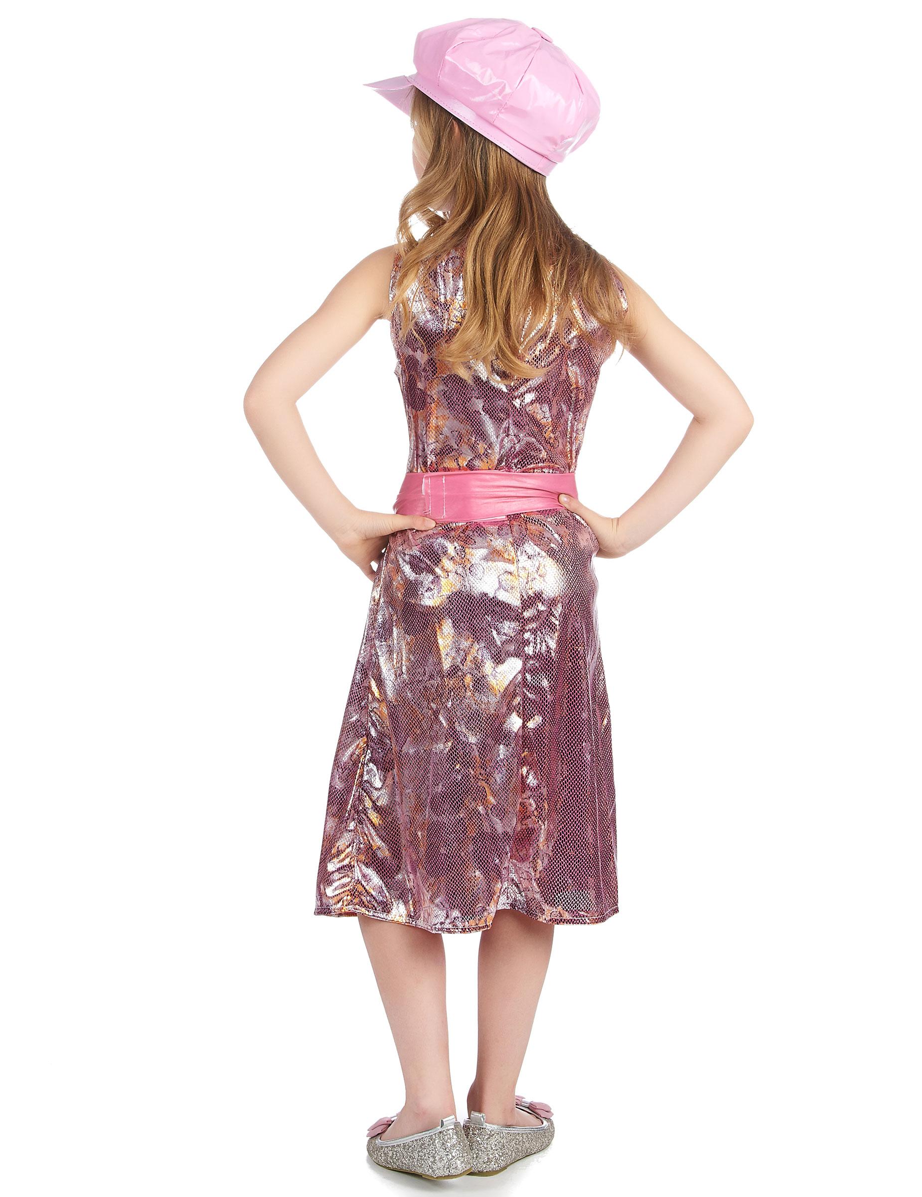 Vestido de los a os 60 para ni a for Disfraces de los anos 60
