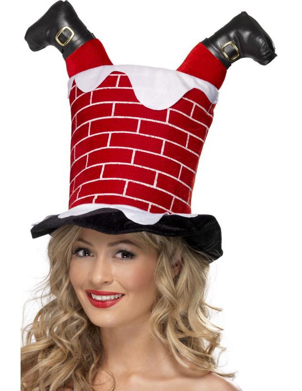 53fd077127ee8 Sombrero humorístico de Navidad para adulto  Sombreros