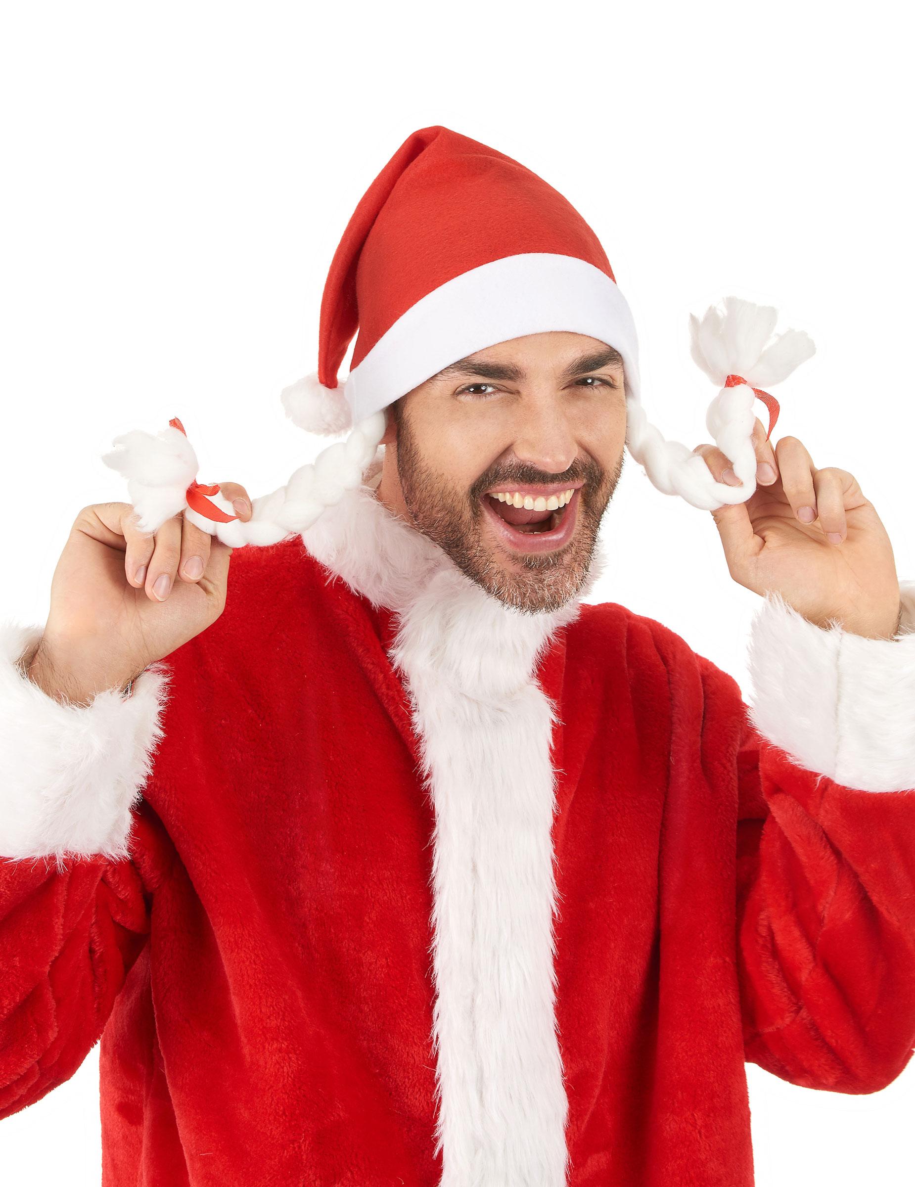 f8488d6cc96ba Gorro de Mamá Noel para mujer  Sombreros