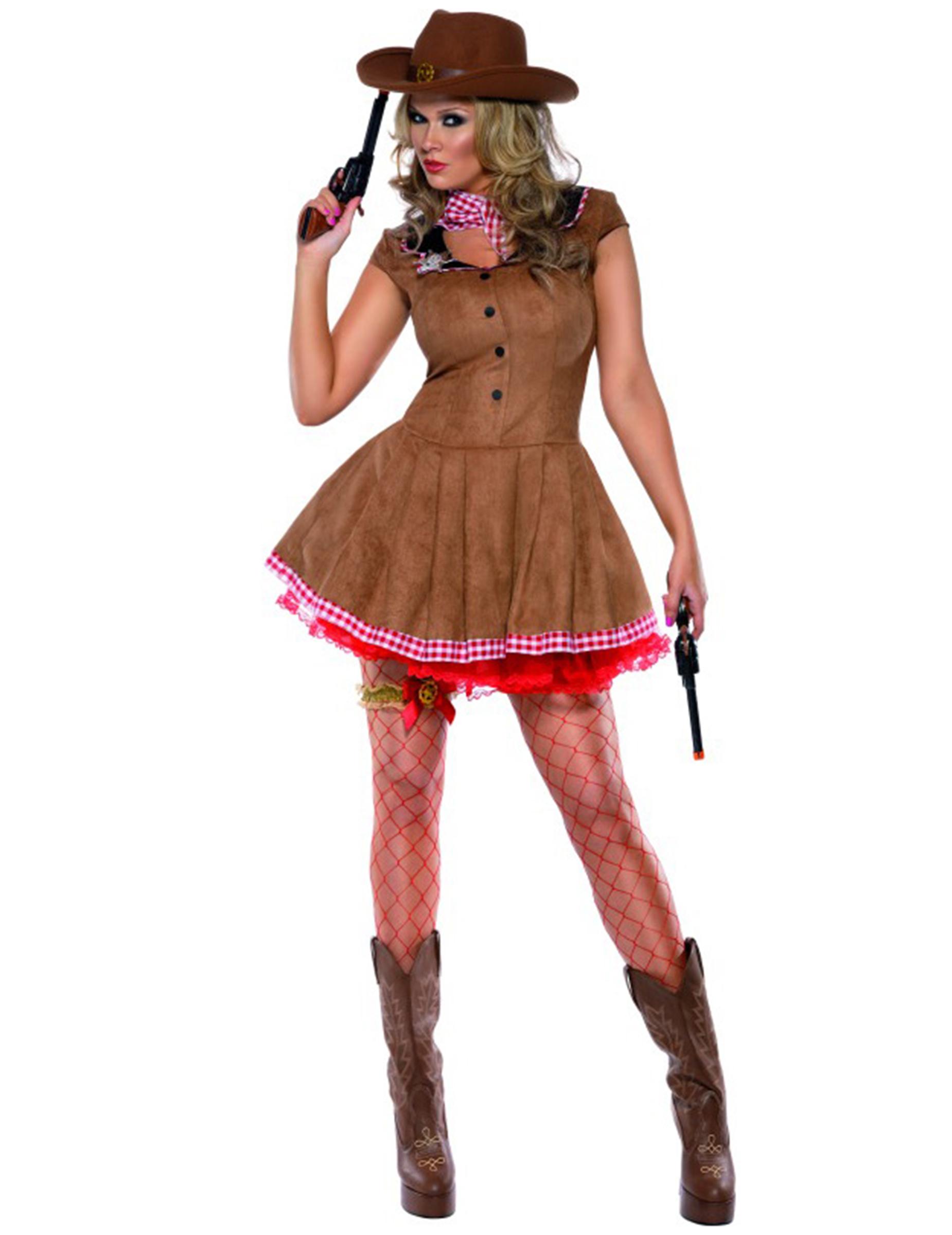 Disfraz de vaquera sexy para mujer 03a3da88311