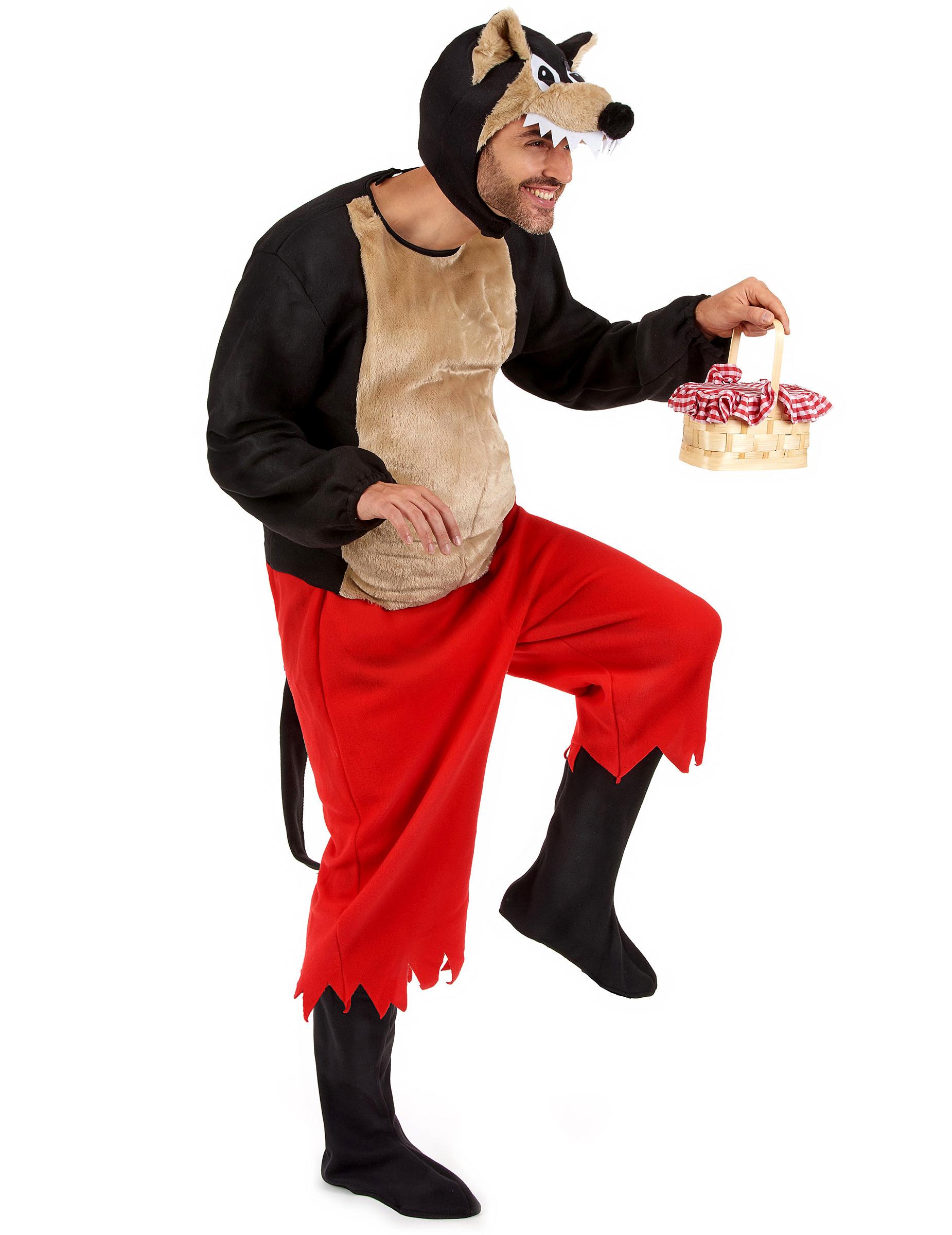Disfraz del lobo feroz de caperucita roja for Disfraz de lobo feroz