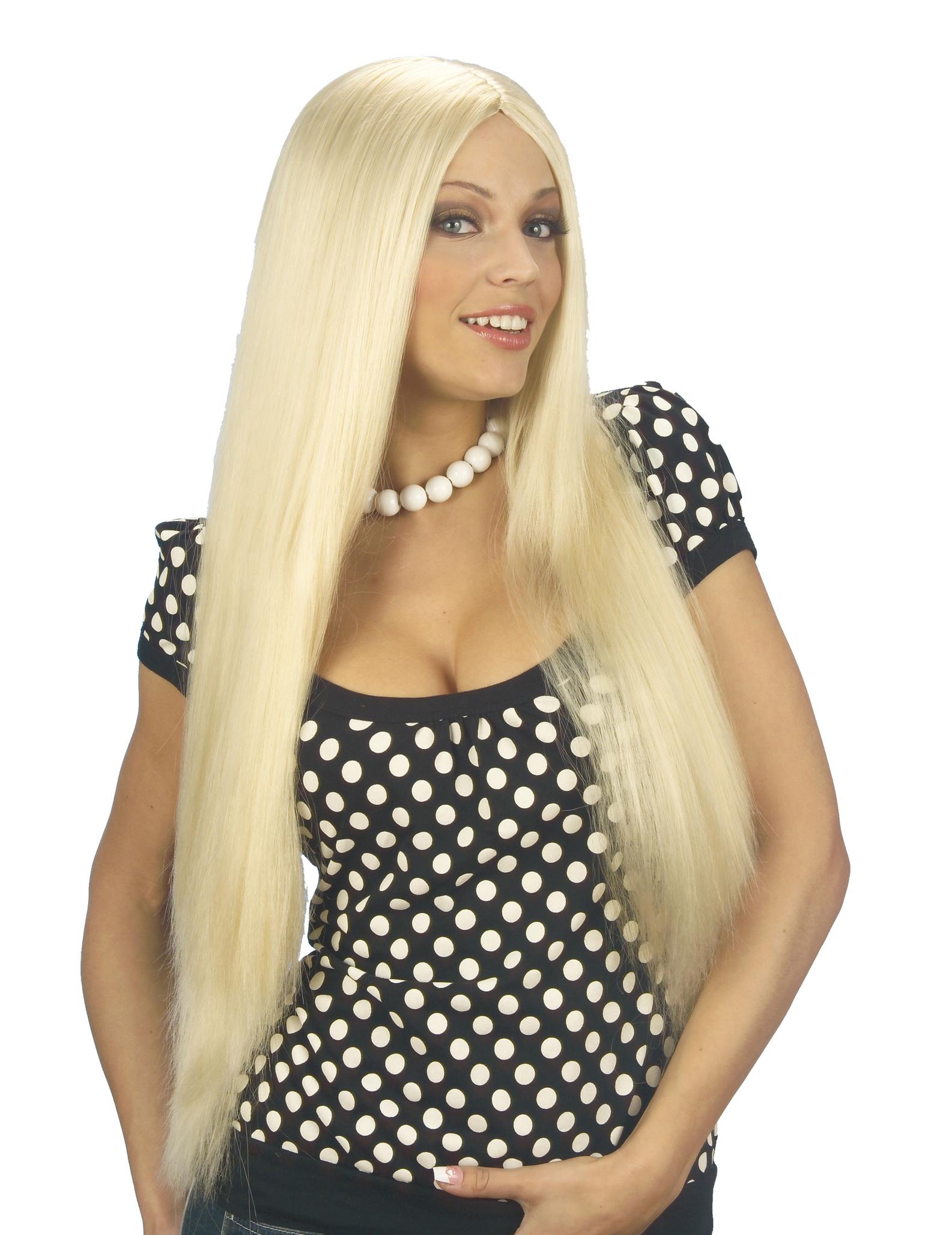 pelo largo rubia semen