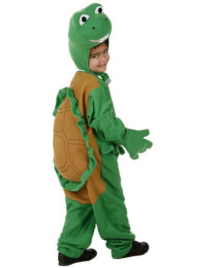 Disfraz Tortuga Ninja Eco adulto, Talla: nica