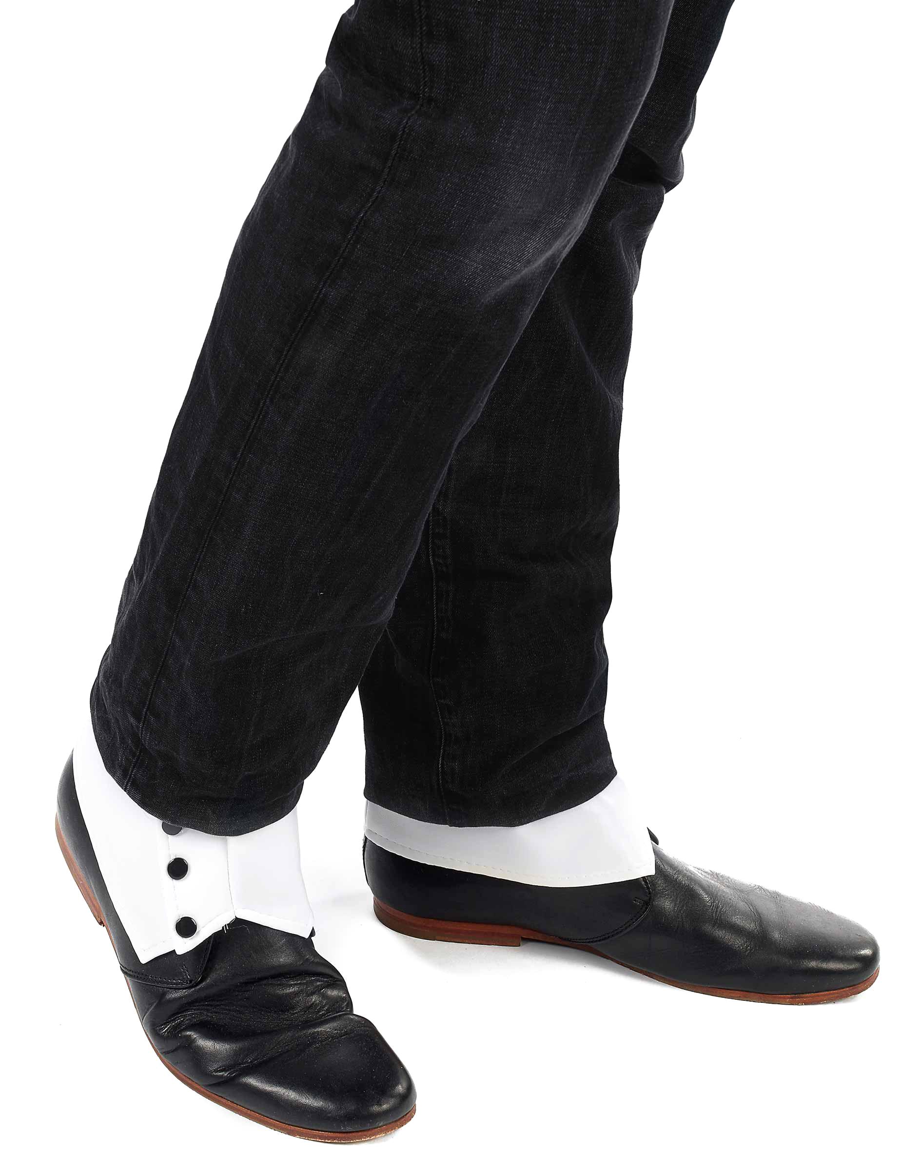 38840d90e Polaina blanca para hombre: Accesorios,y disfraces originales ...