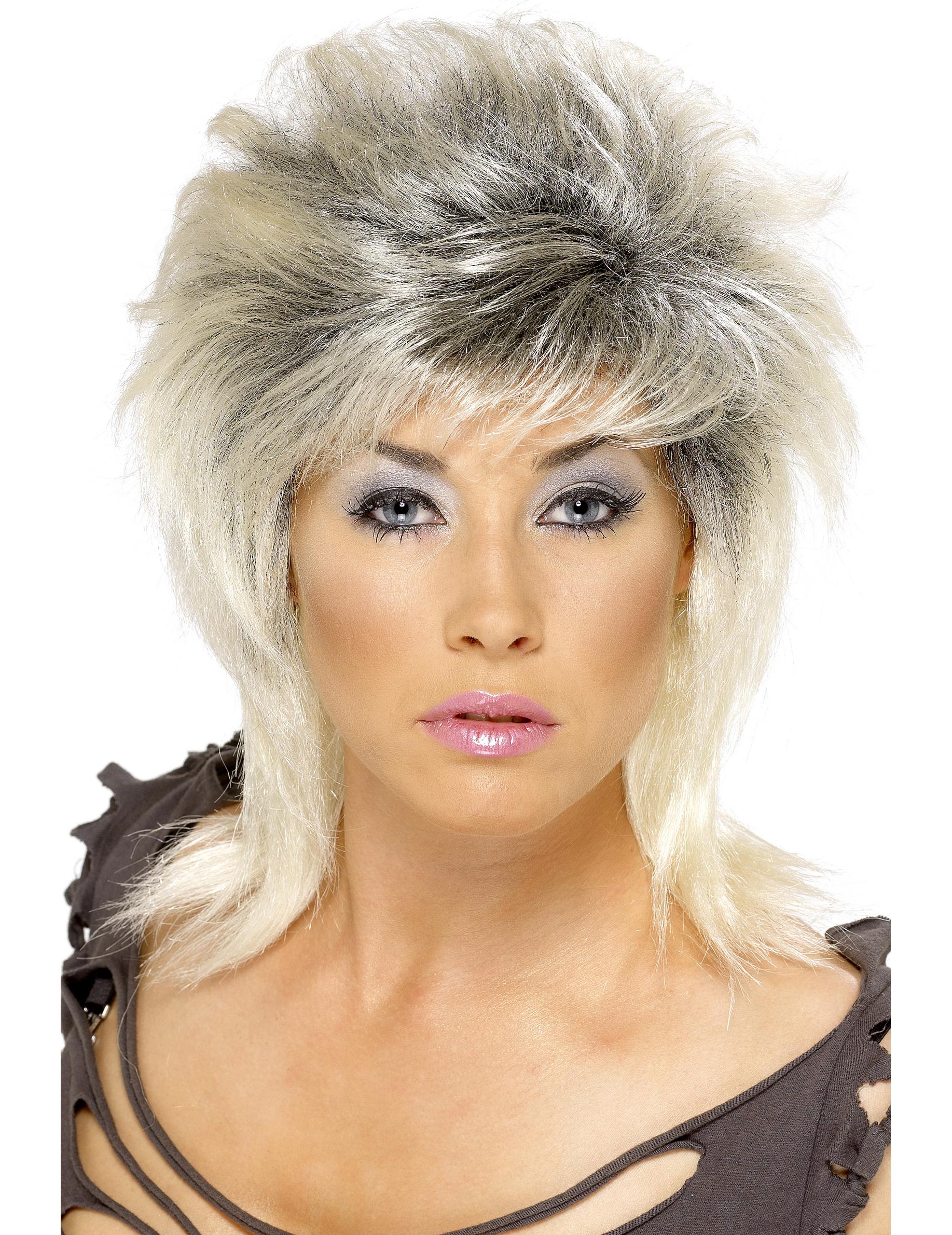 Прическа в стиле 80-х фото на короткие волосы