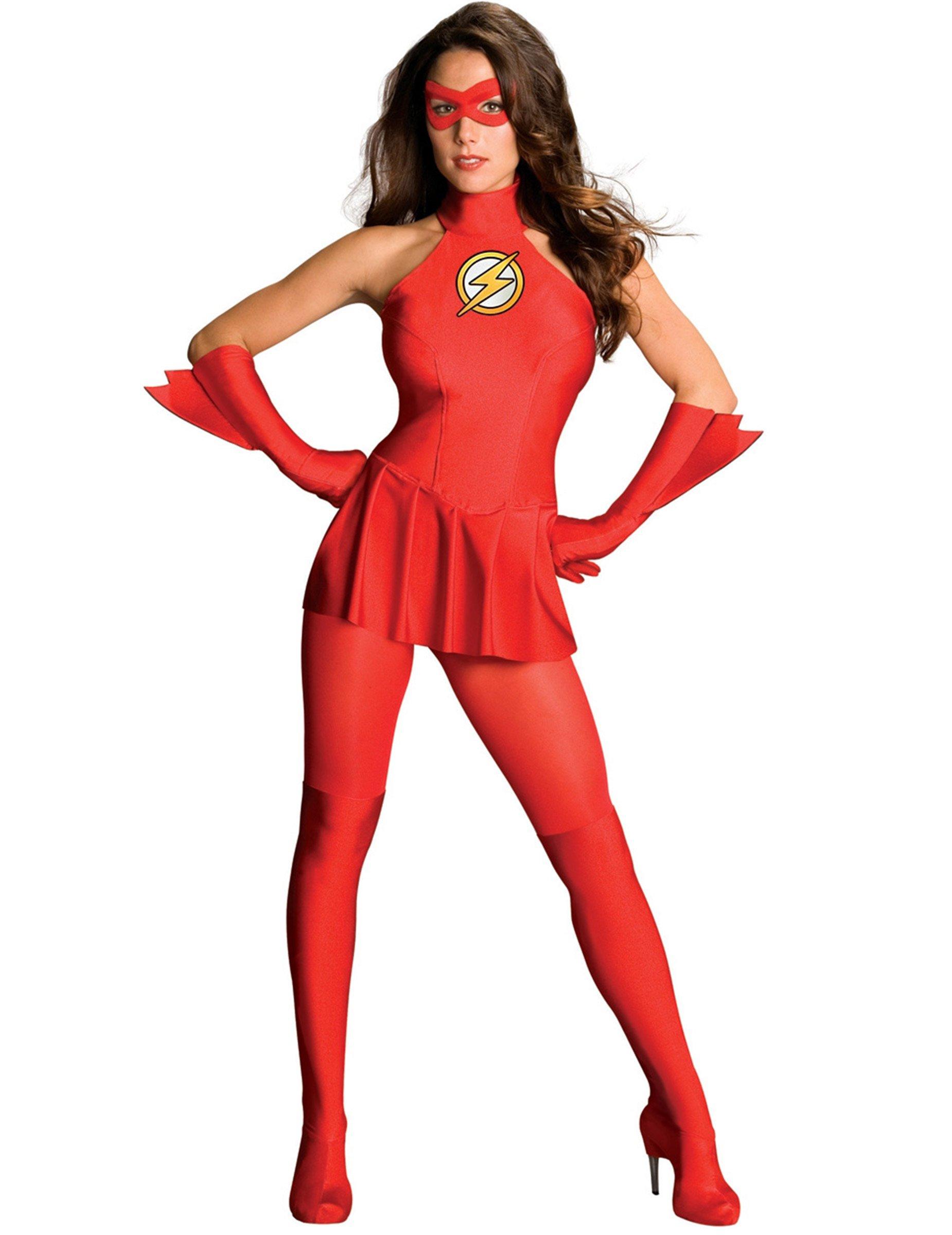 disfraz mujer flash