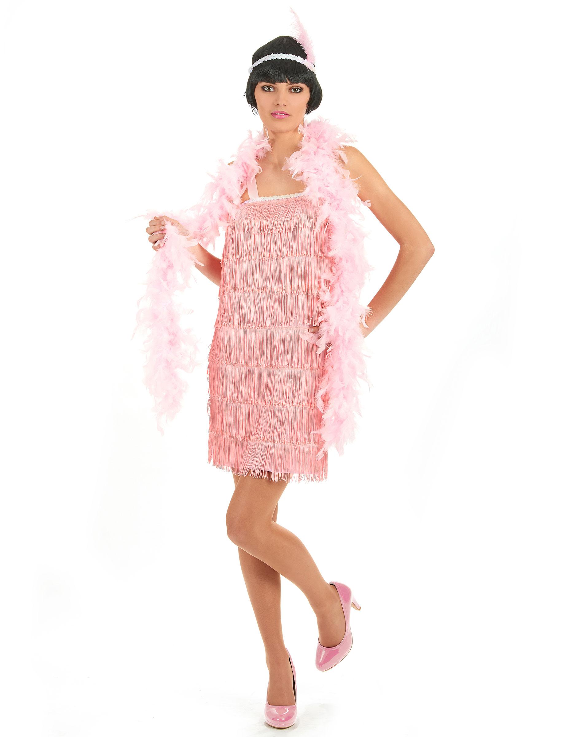 Disfraz rosa de los años 20 para mujer: Disfraces adultos,y ...
