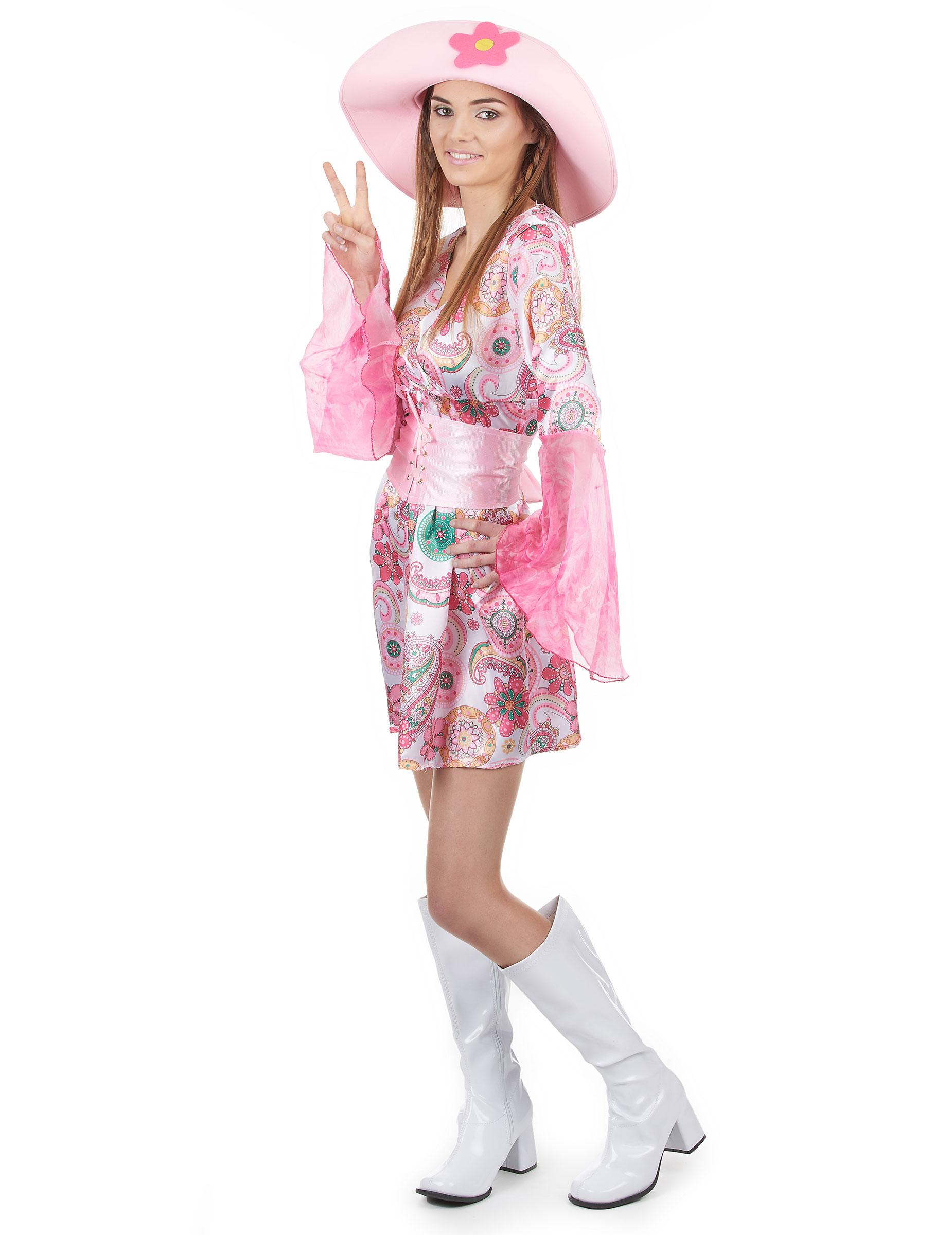 Disfraz estilo años 70 para mujer: Disfraces adultos,y disfraces ...