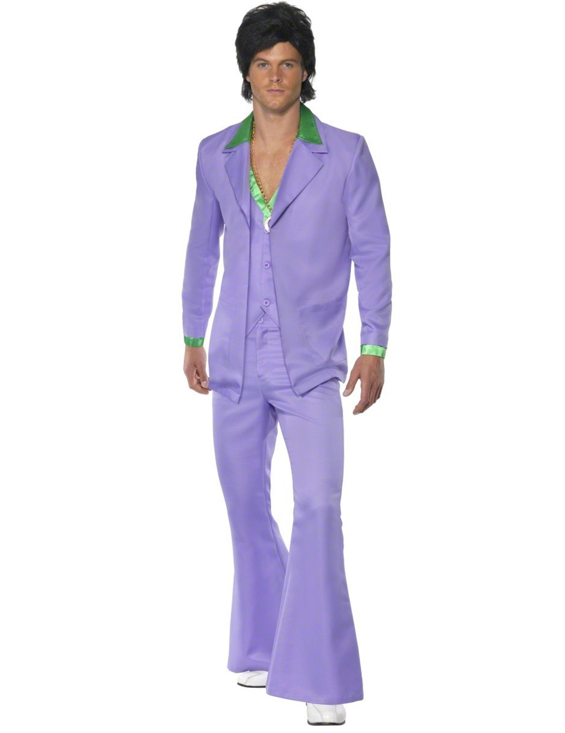 Disfraz estilo disco años 70 para hombre: Disfraces adultos,y ...