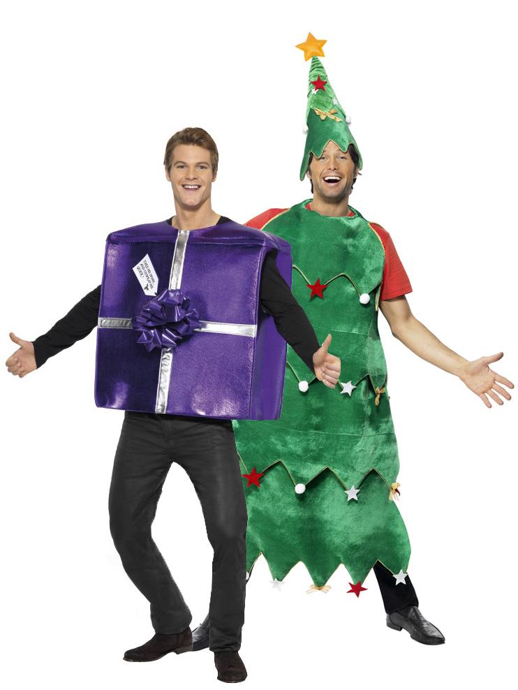 Disfraz de rbol y regalo de navidad disfraces parejas y - Disfraz de navidad ...
