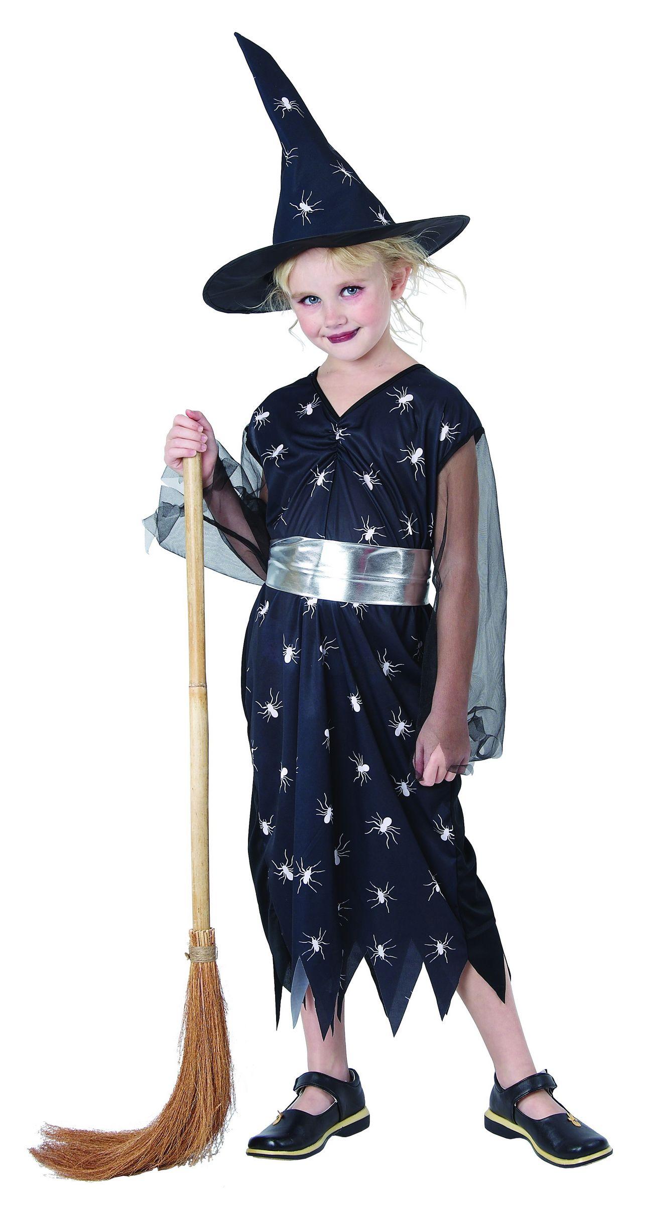 Disfraz De Bruja Para Nina Azul Cosmico Disfraces Ninosy Disfraces - Disfraz-de-bruja-para-bebe