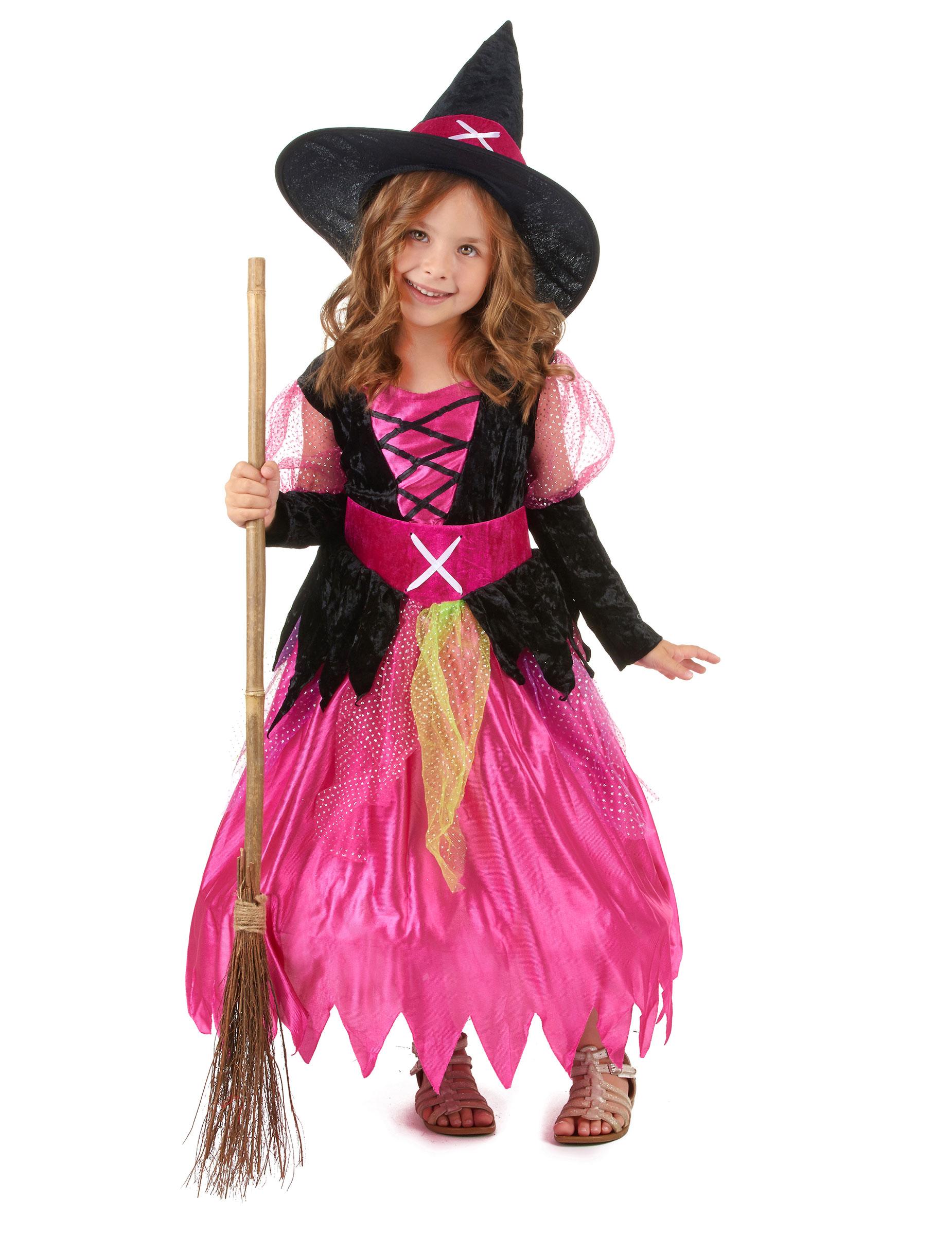 Disfraz De Bruja Para Nina Ideal Para Halloween - Disfraz-de-bruja-para-bebe