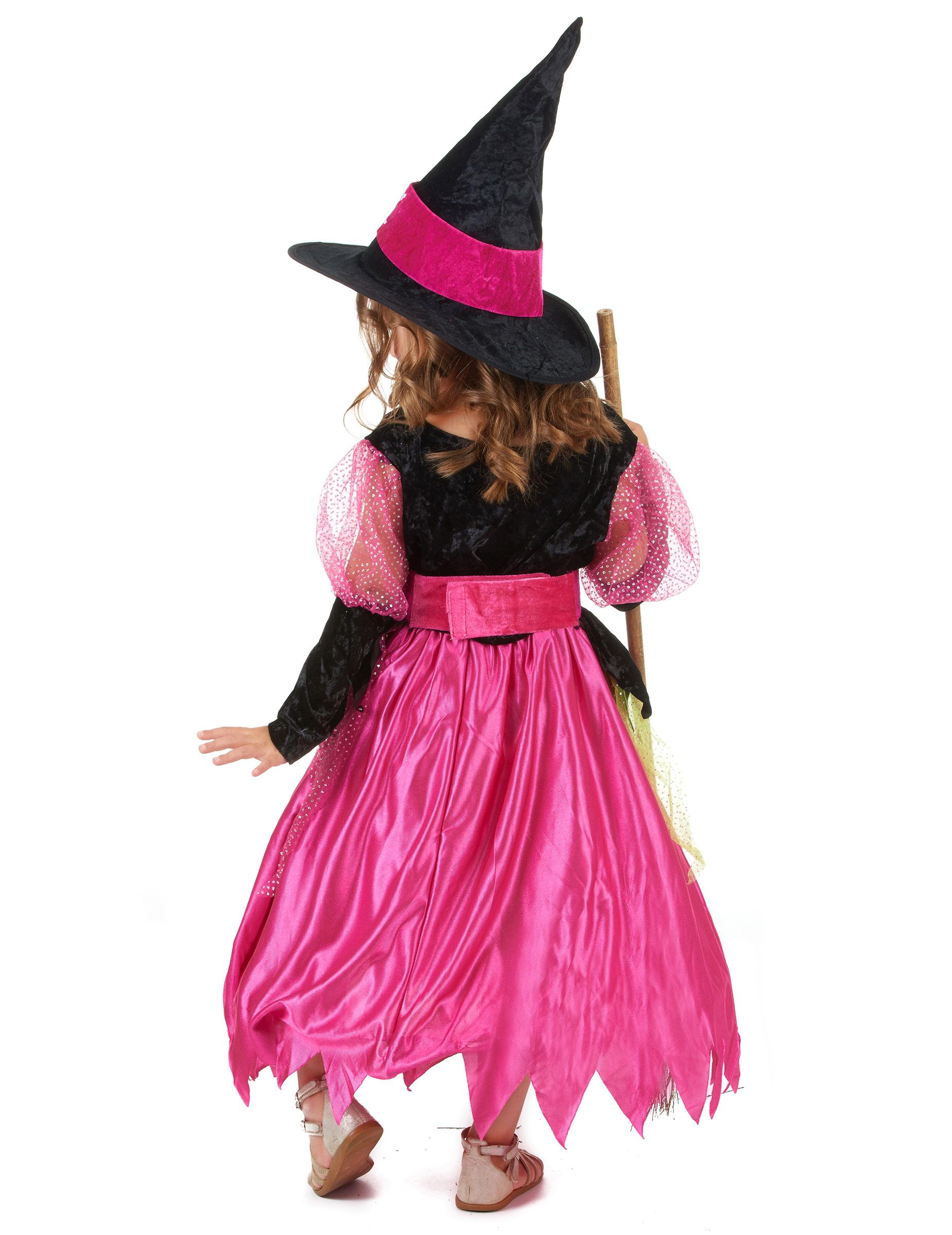 Disfraz de bruja para niña ideal para Halloween: Disfraces niños,y ...