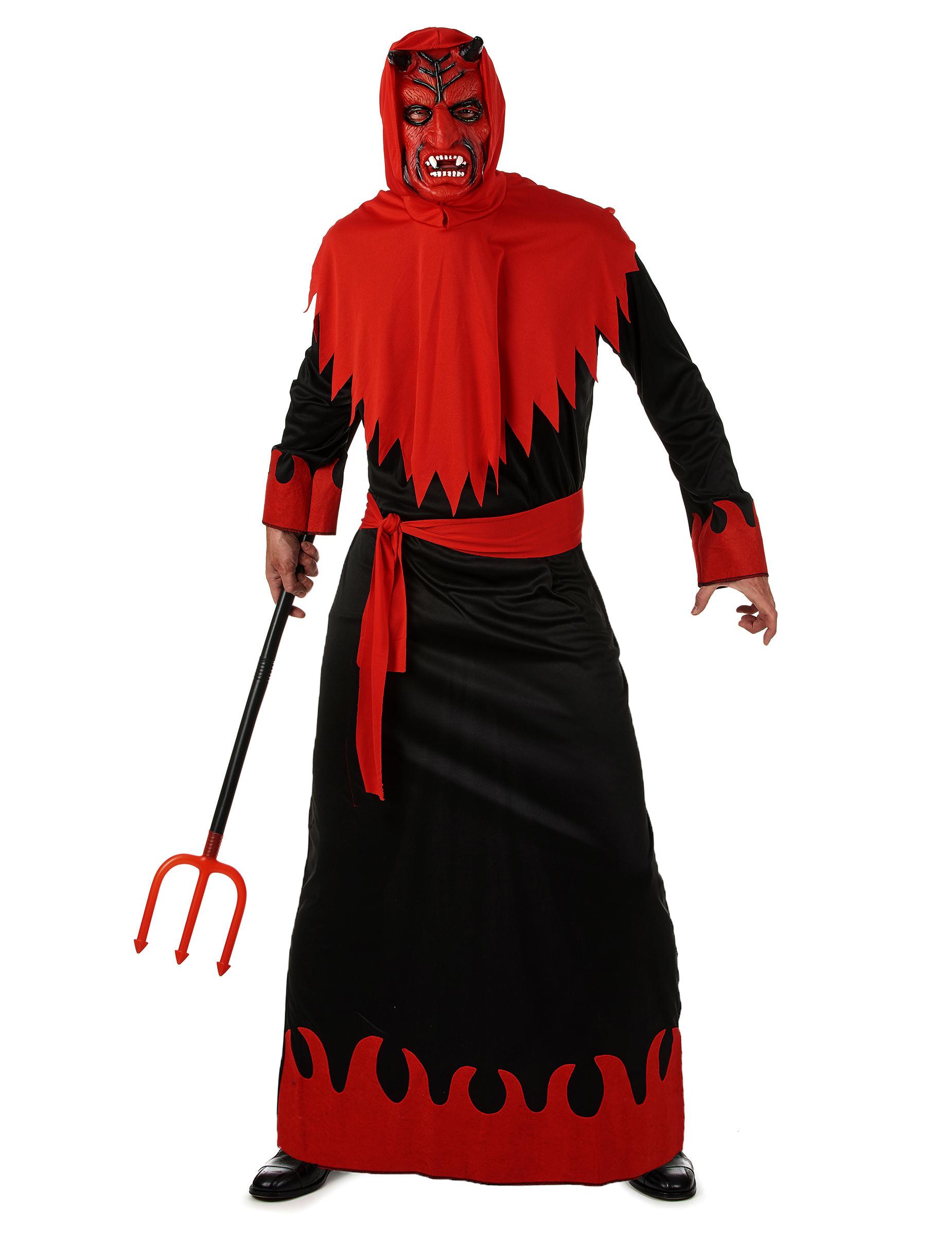 disfraz de diablo para hombre ideal para halloween